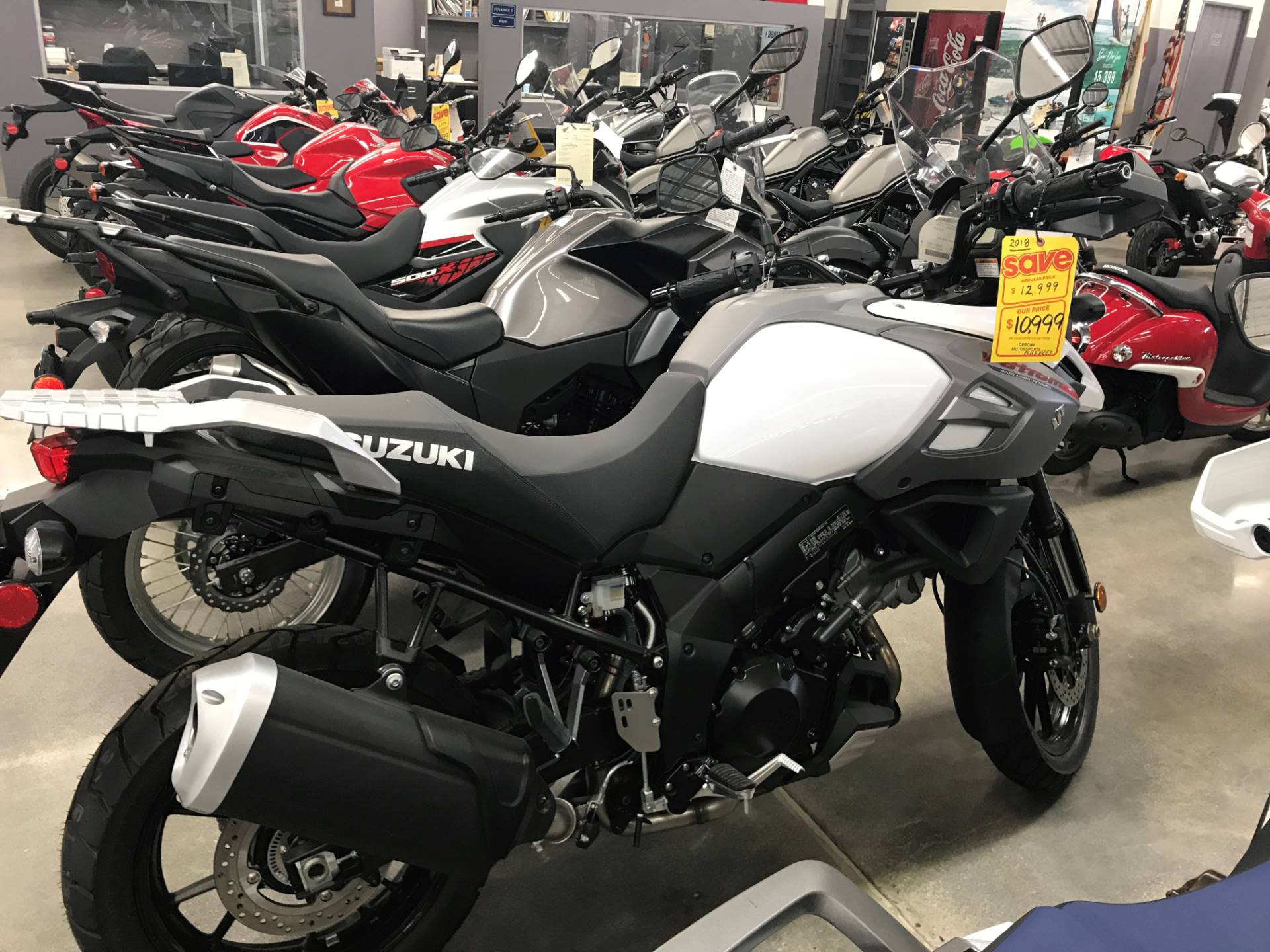 2018 Suzuki V-Strom 1000 in Corona, California - Photo 1