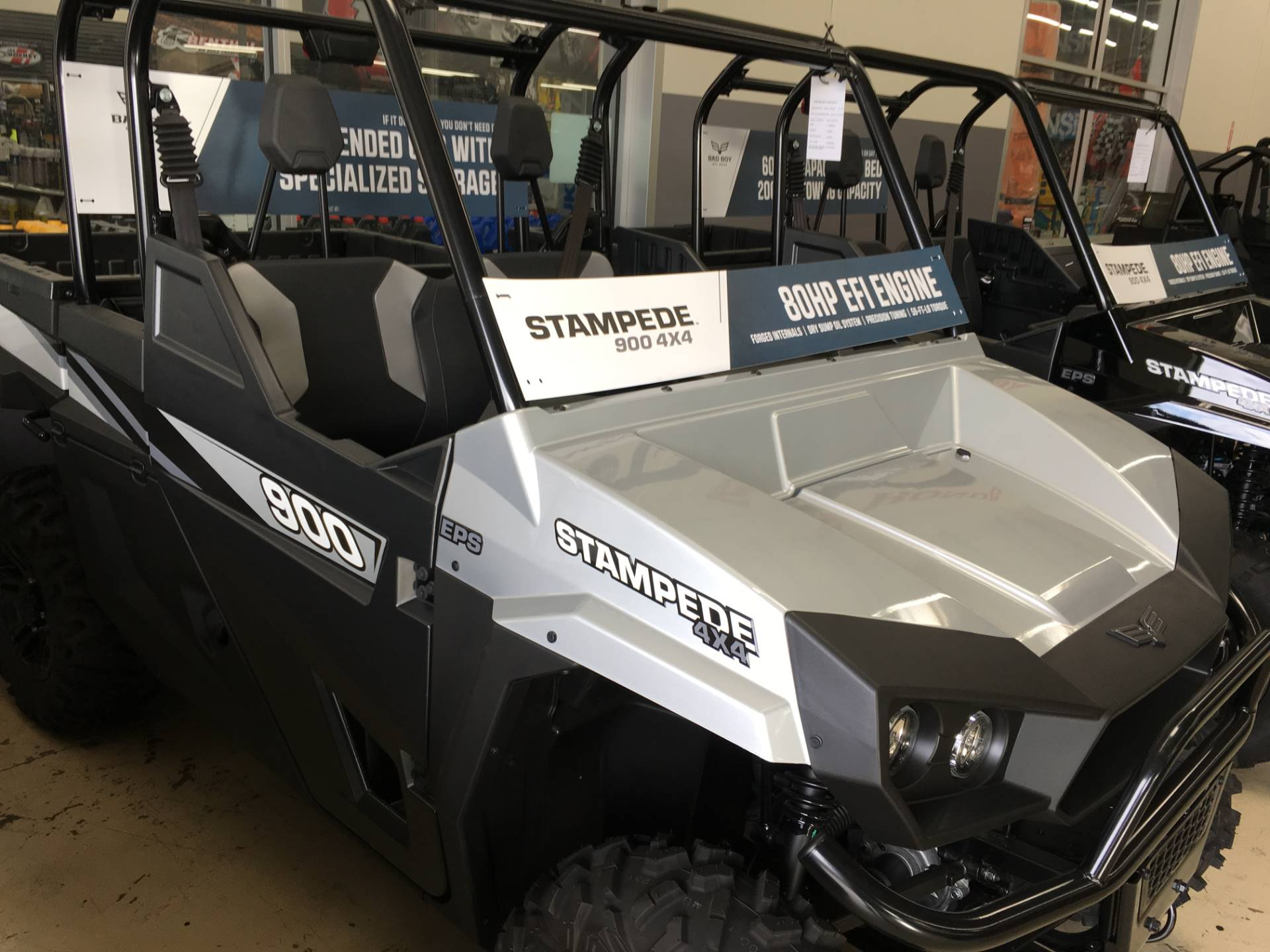 2017 Bad Boy Off Road Stampede EPS Plus in Corona, California