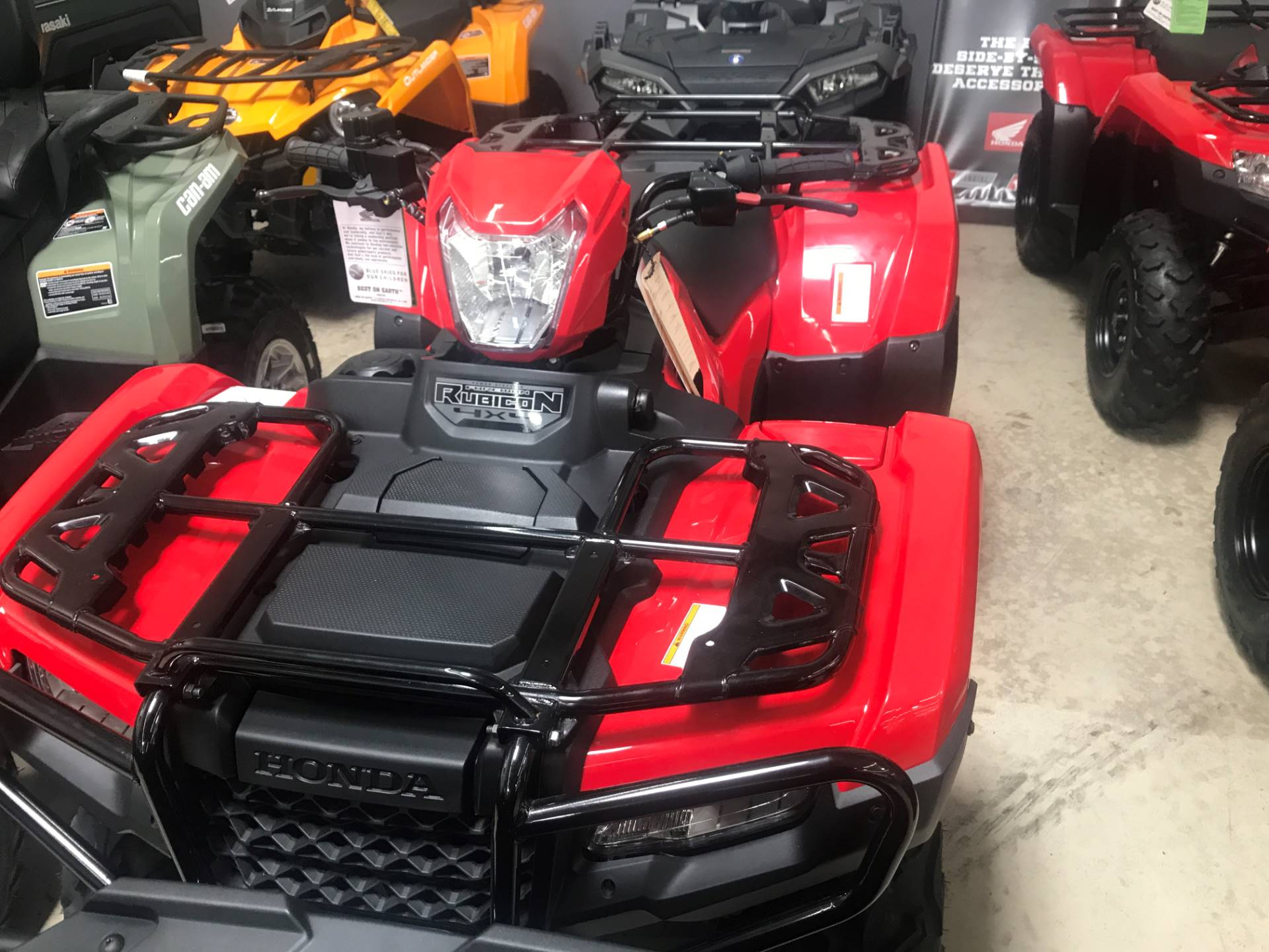 2018 Honda FourTrax Foreman Rubicon 4x4 EPS in Corona, California