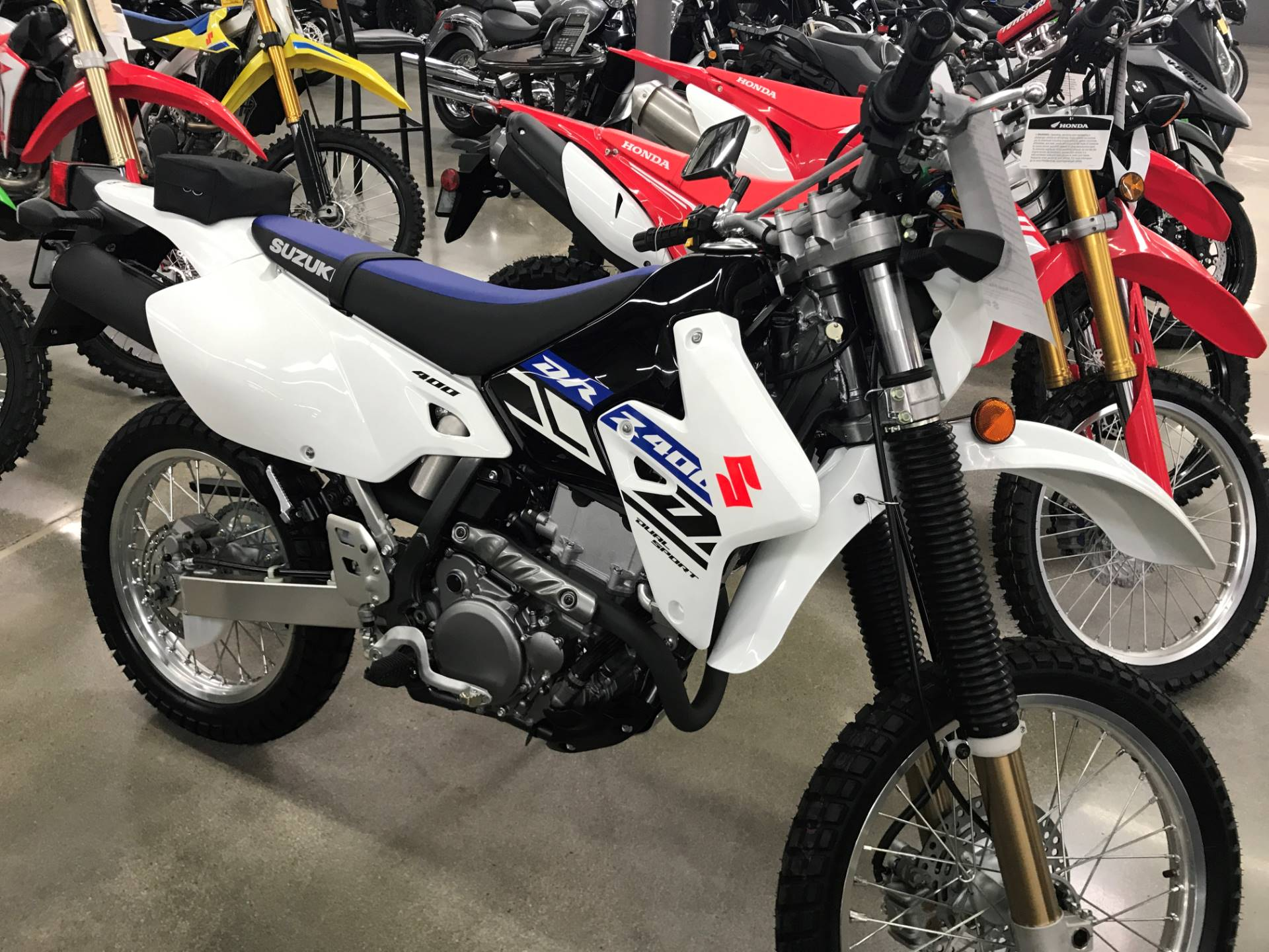 2019 Suzuki DR-Z400S in Corona, California