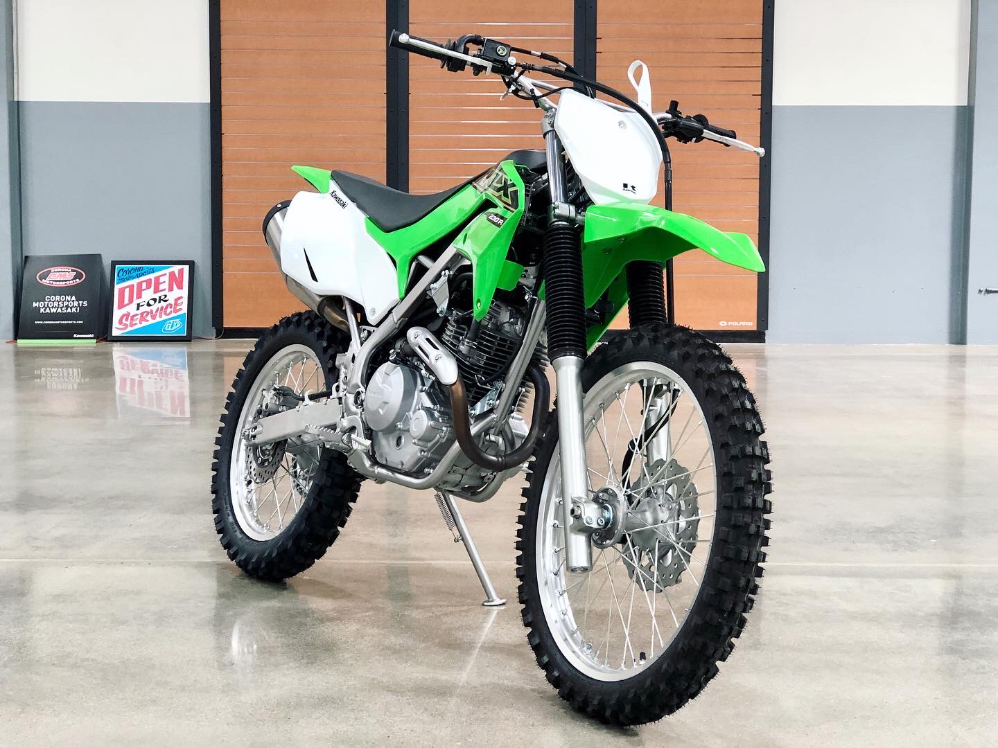 2021 Kawasaki KLX 230R S in Corona, California - Photo 3