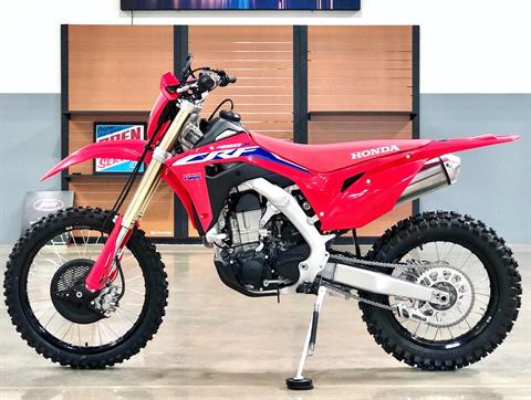 2021 Honda CRF450X in Corona, California - Photo 9