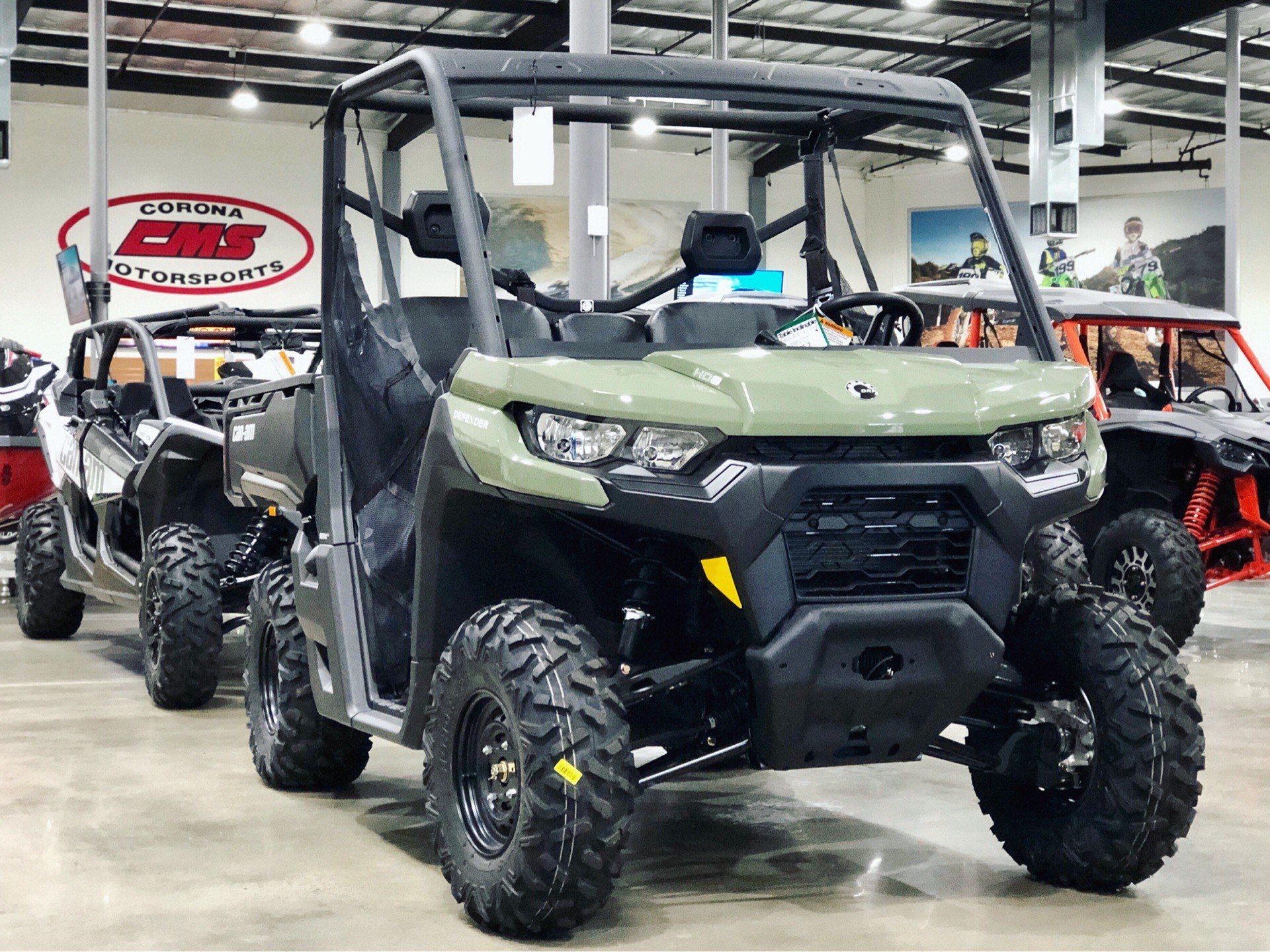 2020 Can-Am Defender HD8 in Corona, California - Photo 1