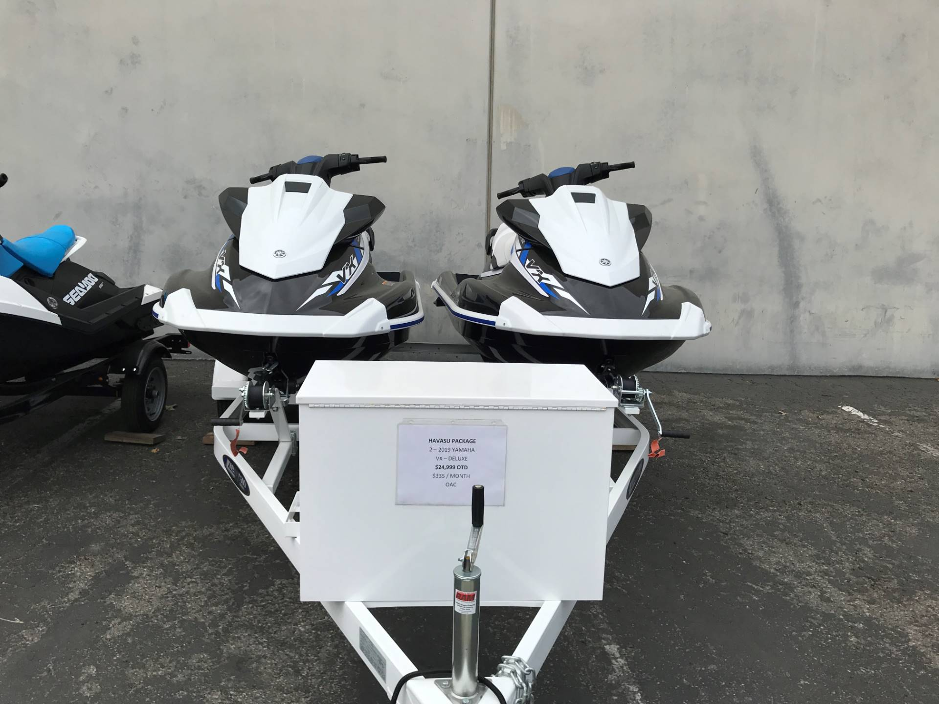 2019 Yamaha VX Deluxe in Corona, California - Photo 1