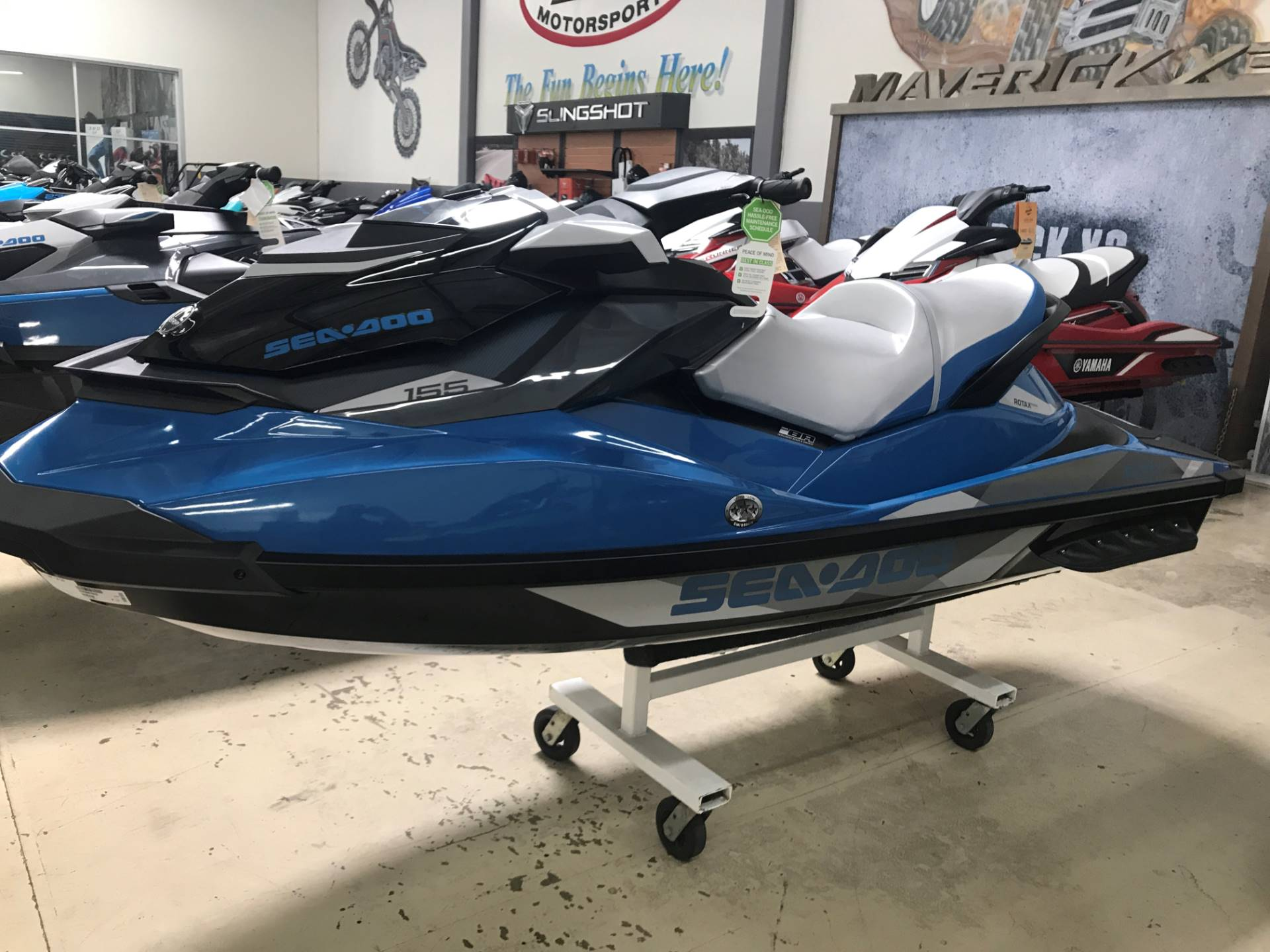 2018 Sea-Doo GTI SE 155 in Corona, California