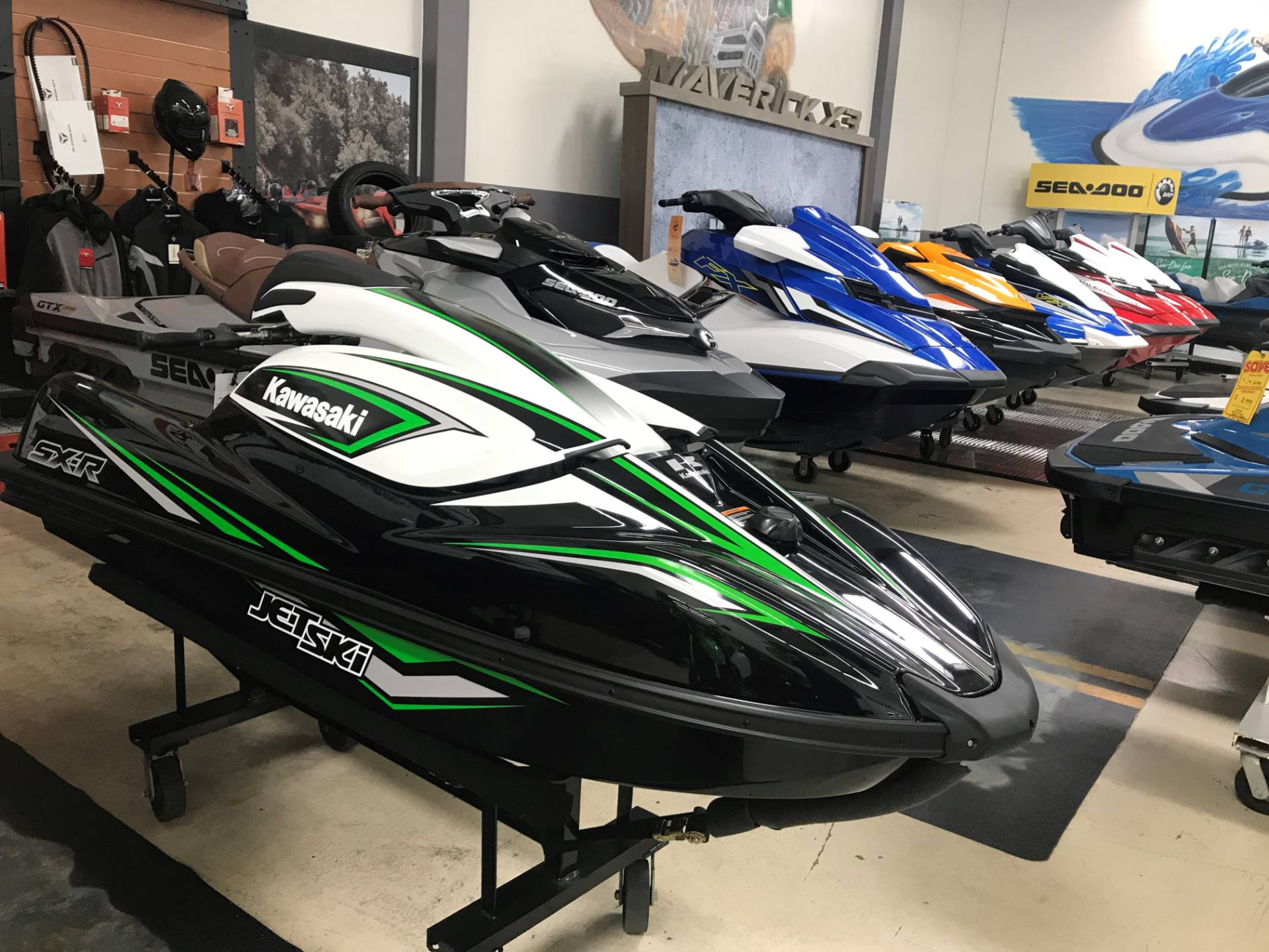 2018 Kawasaki JET SKI SX-R in Corona, California - Photo 1