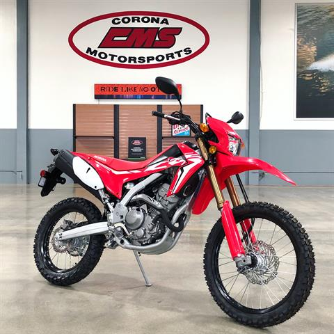 2020 Honda CRF250L ABS in Corona, California - Photo 1