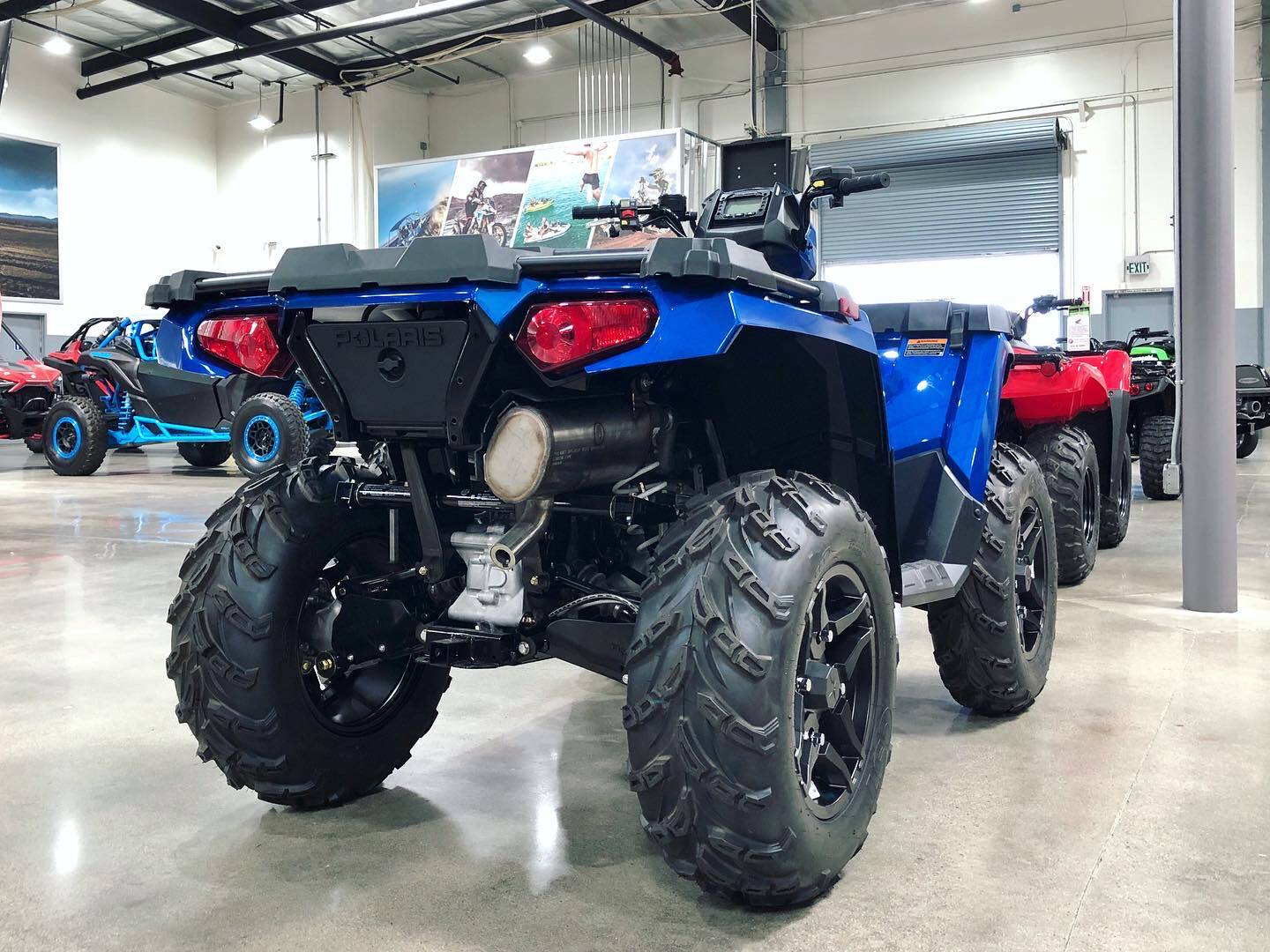 2020 Polaris Sportsman 570 Premium in Corona, California - Photo 3