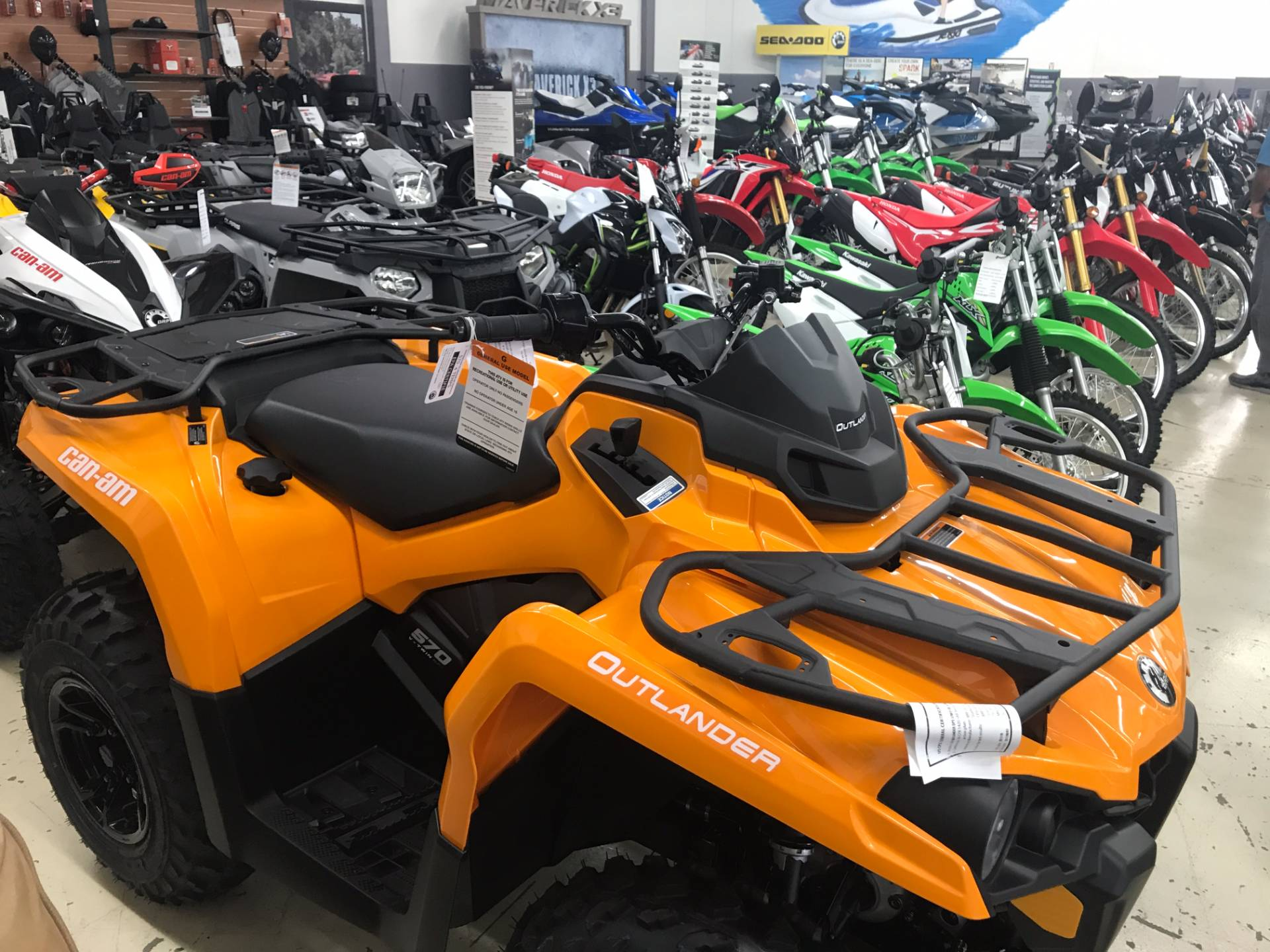 2018 Can-Am Outlander DPS 570 in Corona, California