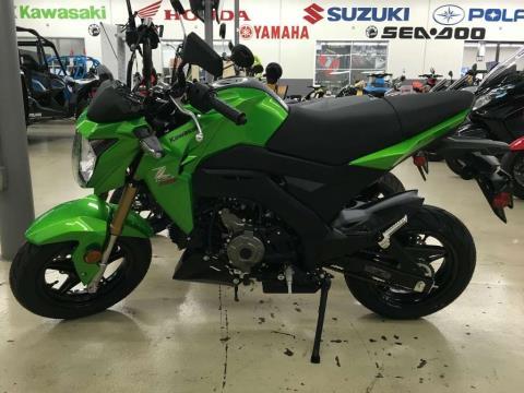 2017 Kawasaki Z125 Pro in Corona, California