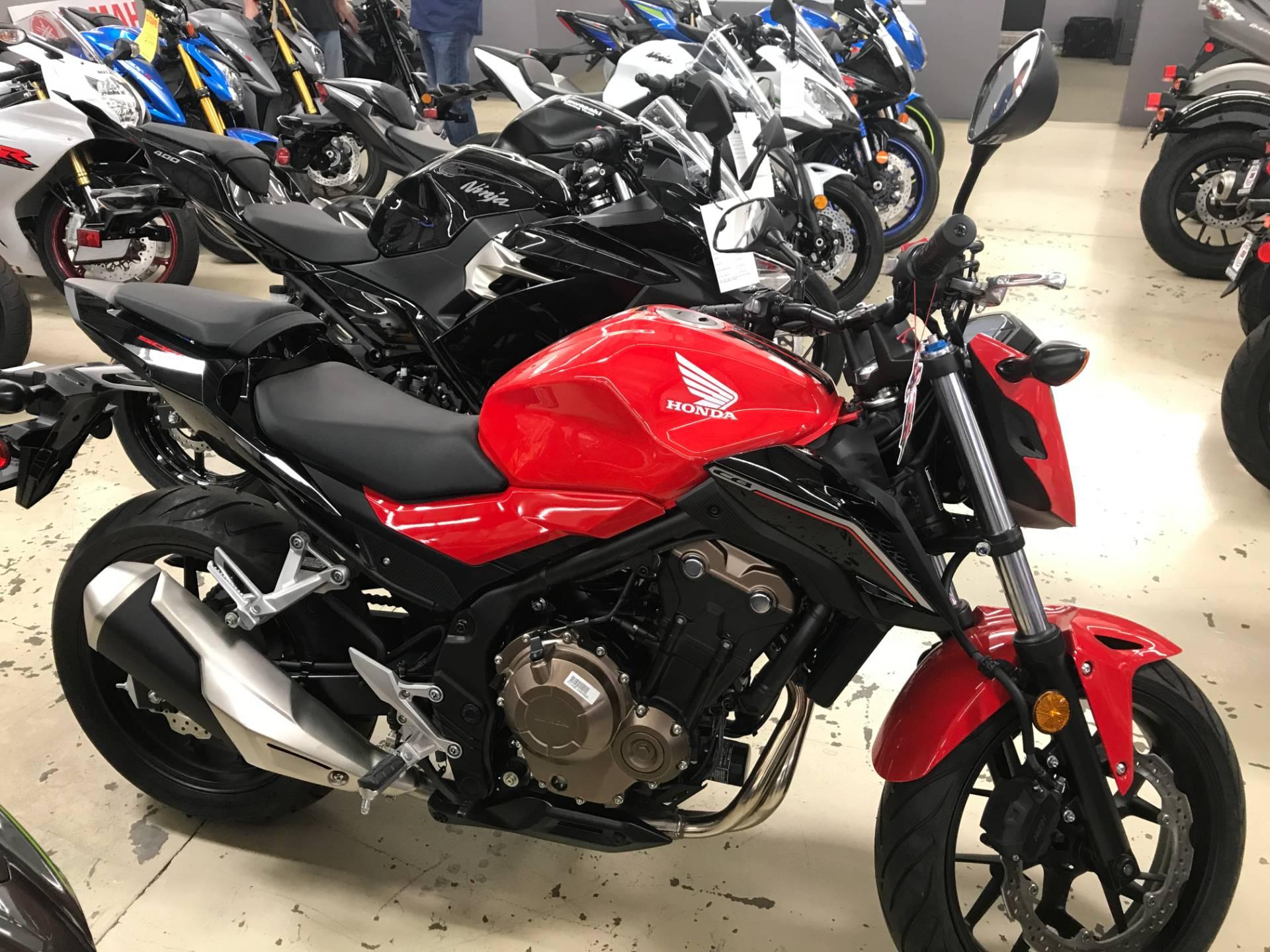 2017 Honda CB500F In Corona California