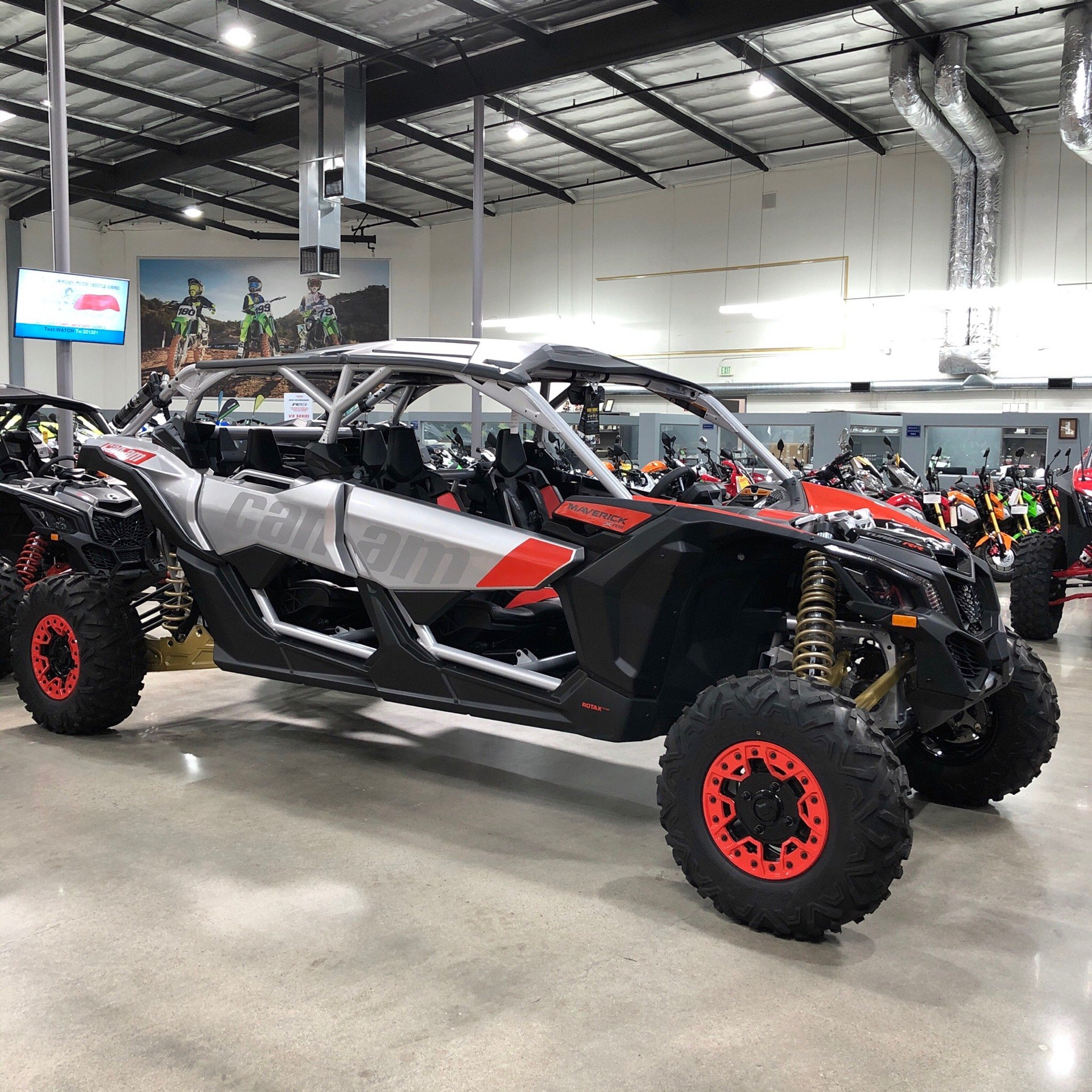 New 2020 Can-Am Maverick X3 MAX X RS Turbo RR Gold / Can