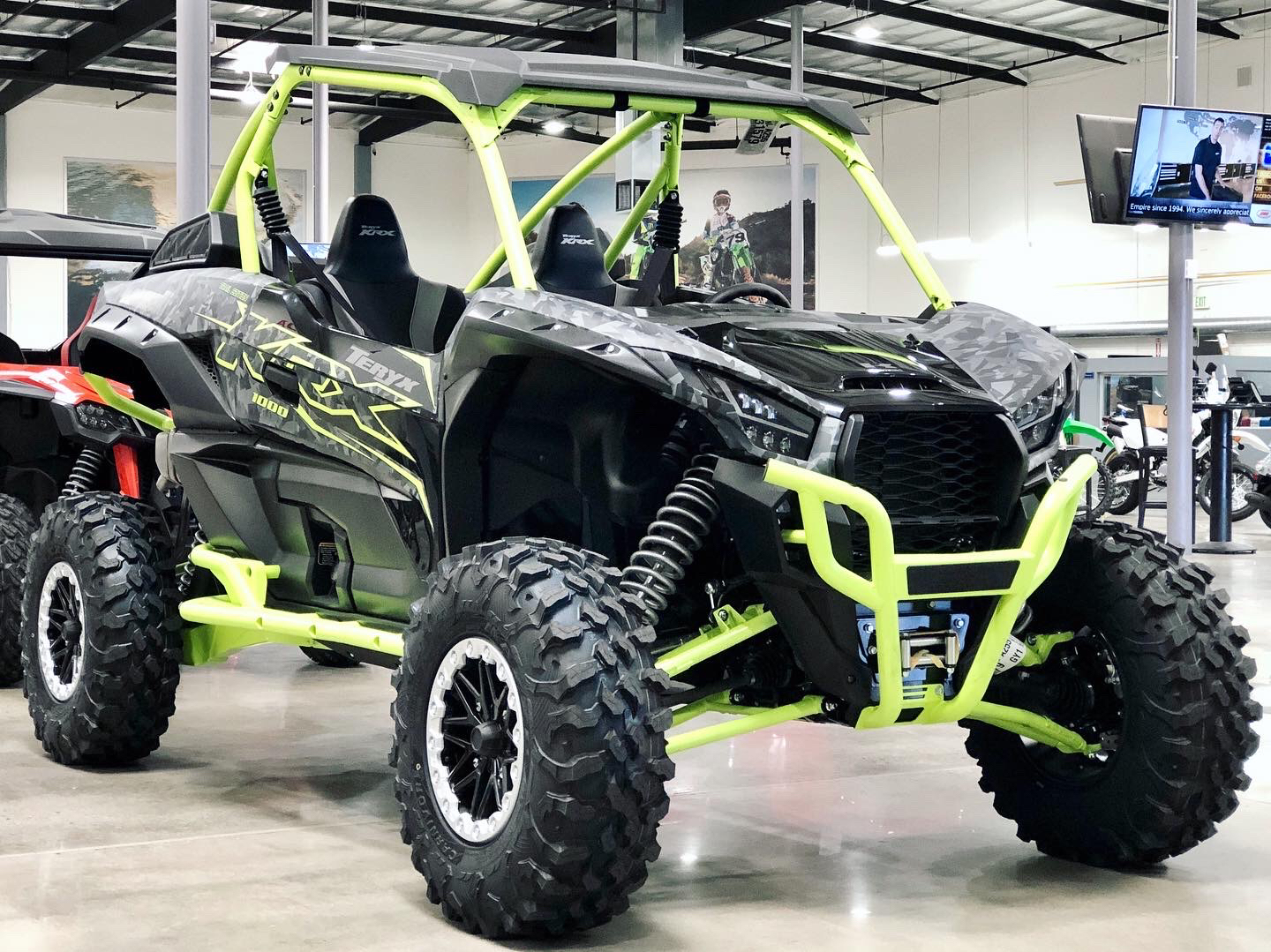 2021 Kawasaki Teryx KRX 1000 Trail Edition in Corona, California - Photo 1