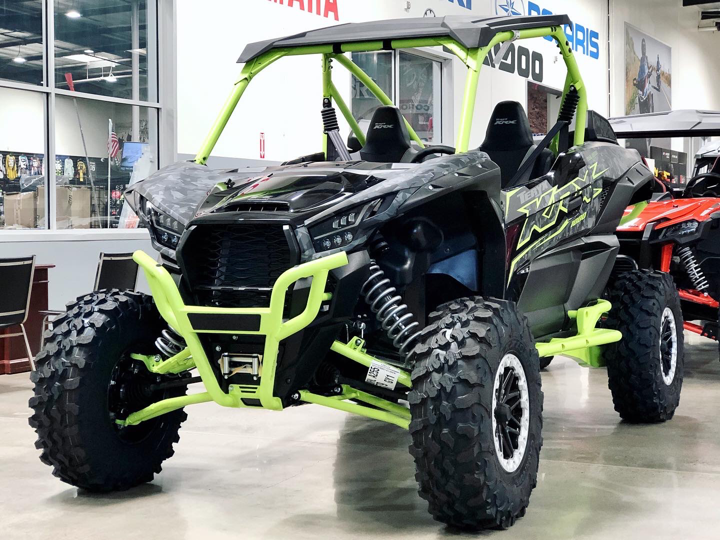 2021 Kawasaki Teryx KRX 1000 Trail Edition in Corona, California - Photo 3