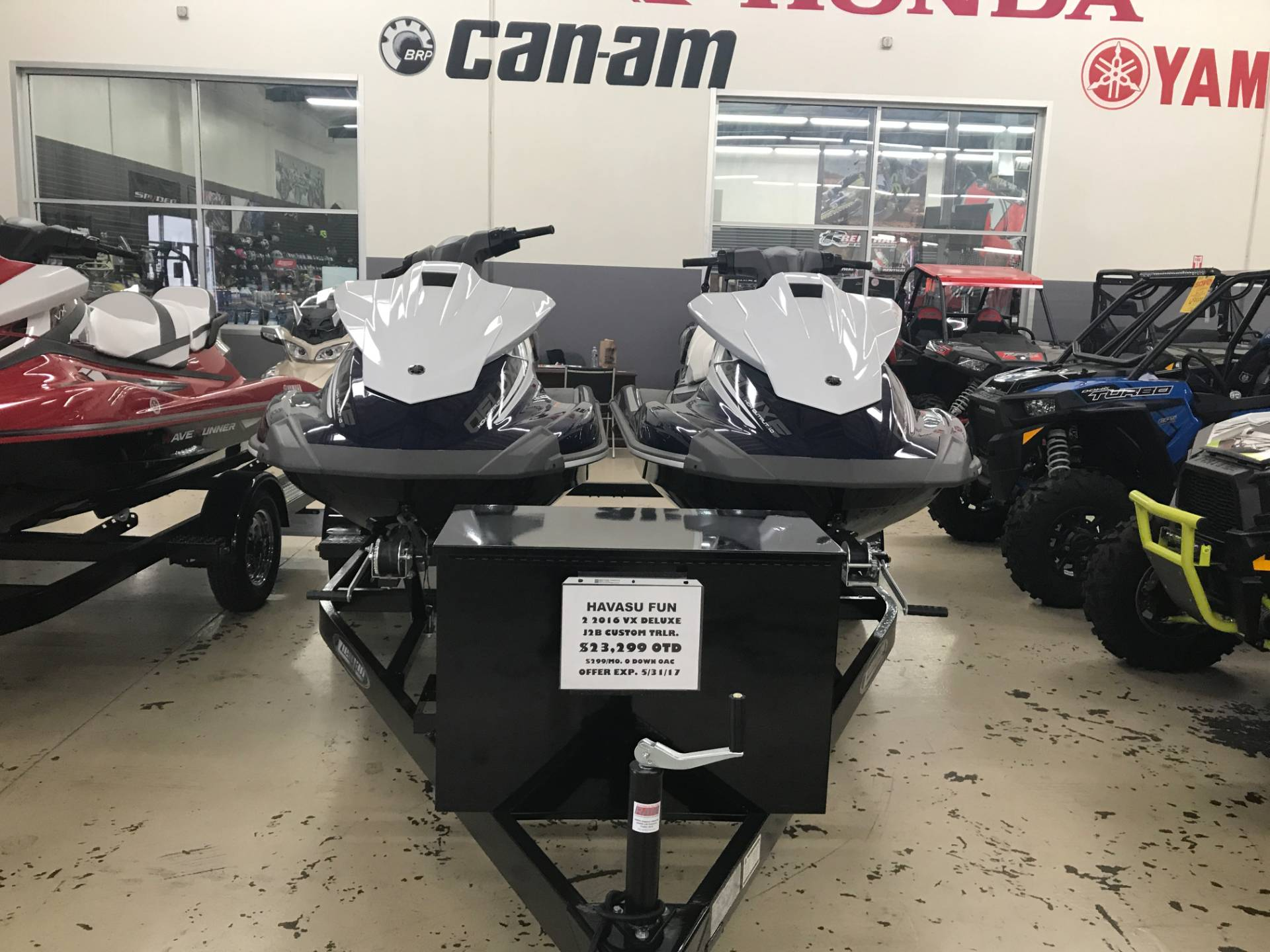 2016 Yamaha VX Deluxe for sale 14325