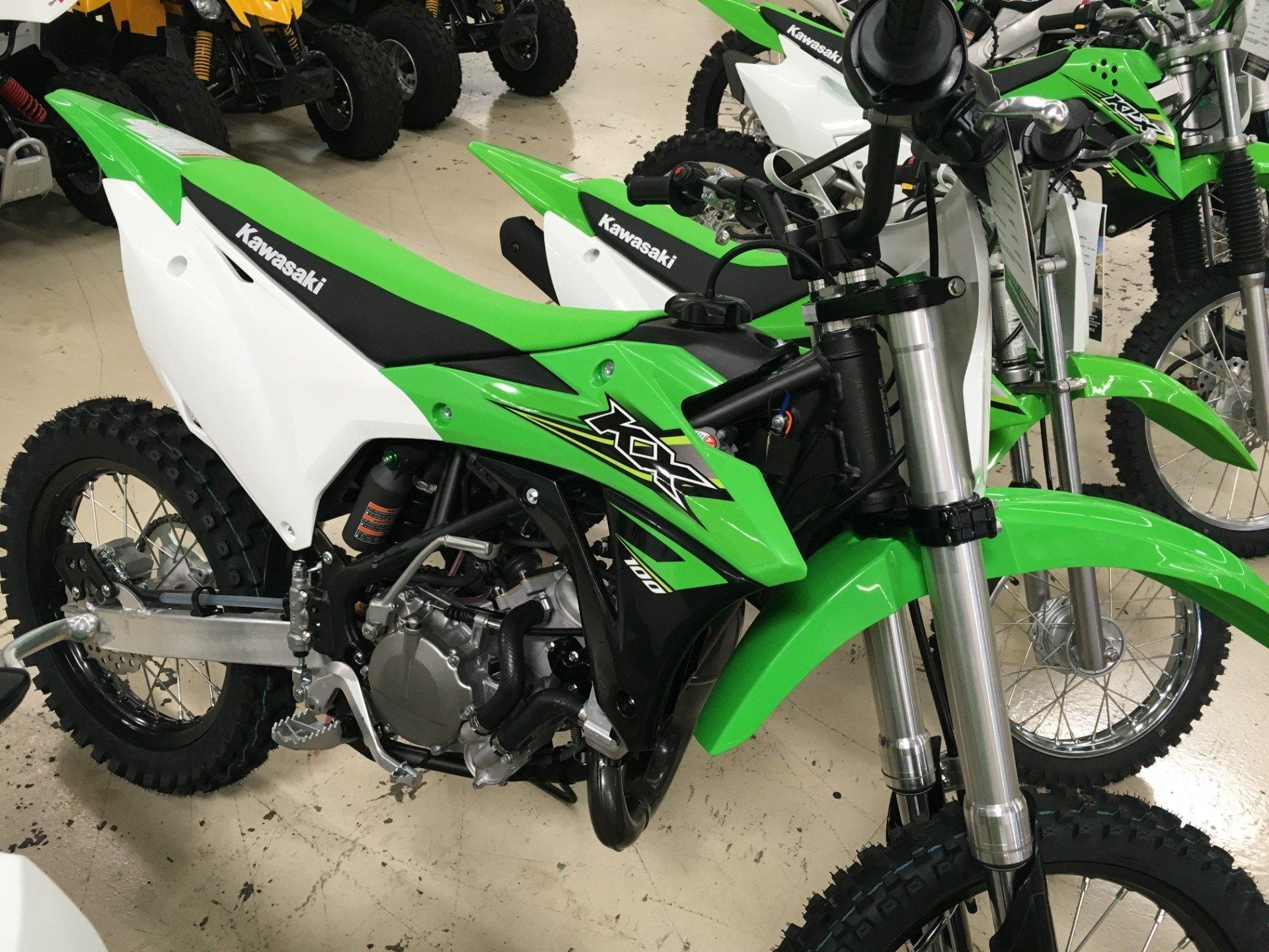 2017 Kawasaki KX100 in Corona, California
