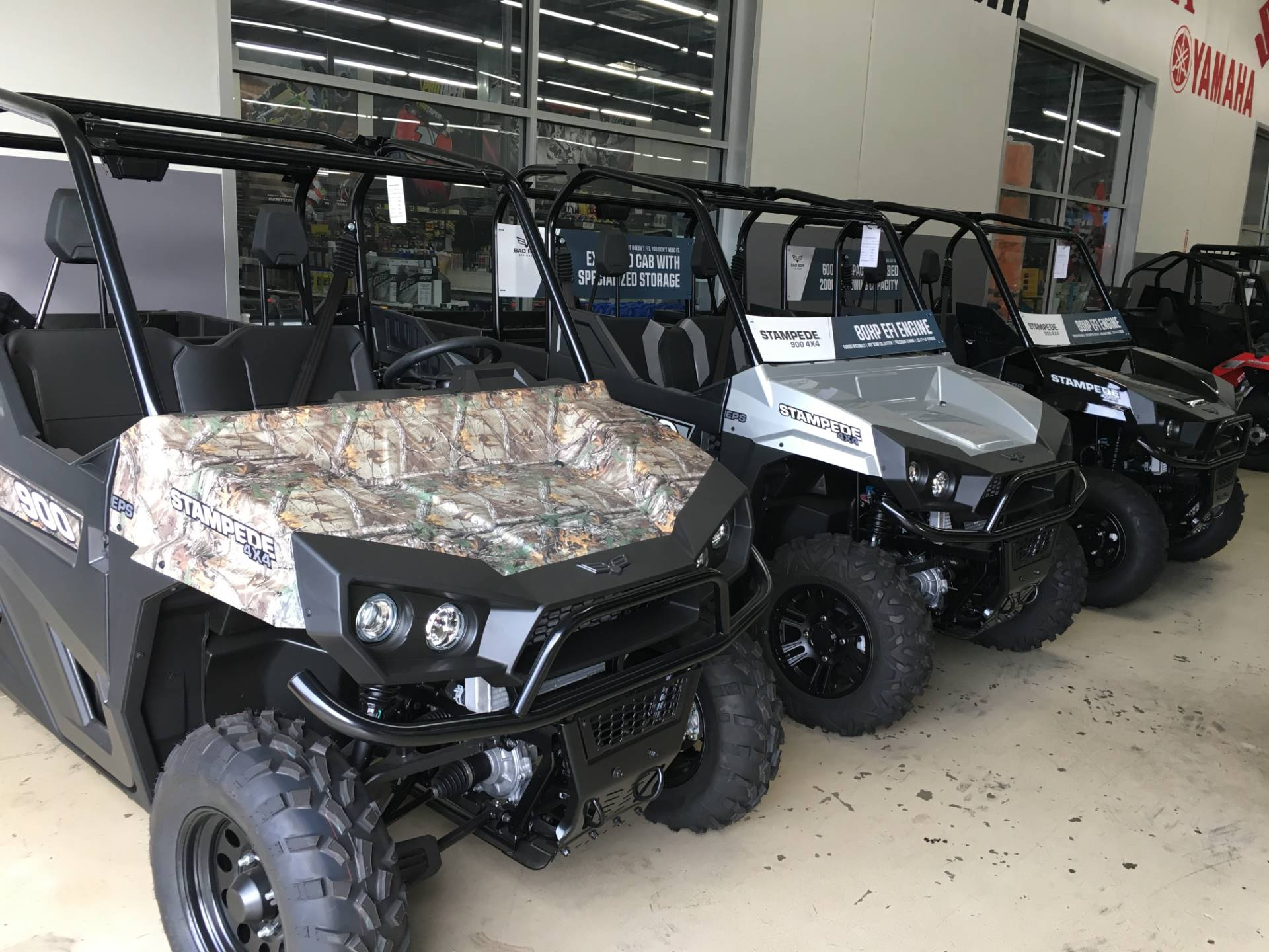 2017 Bad Boy Off Road Stampede EPS Camo in Corona, California