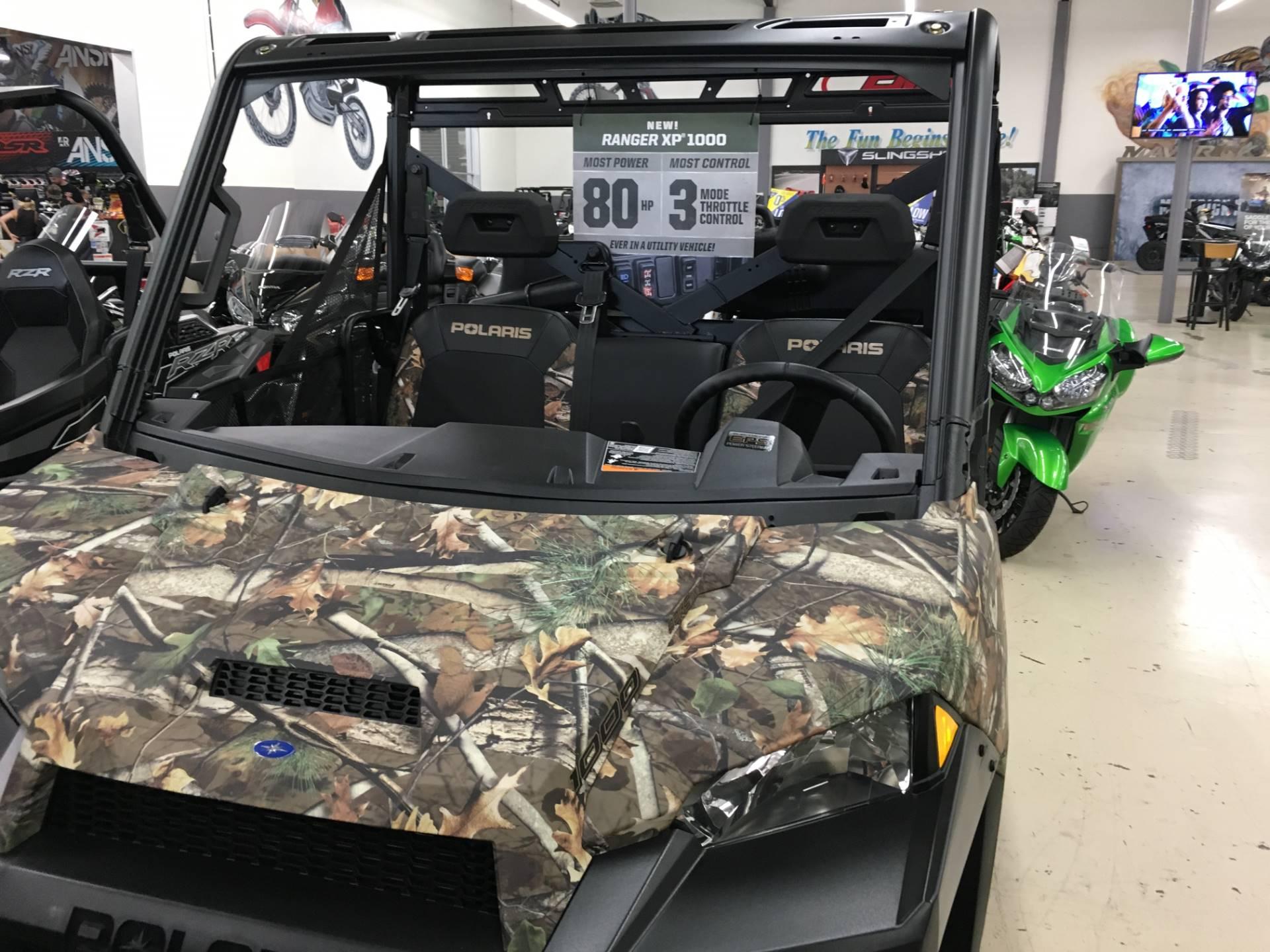 2017 Polaris Ranger XP 1000 EPS Hunter Edition in Corona, California
