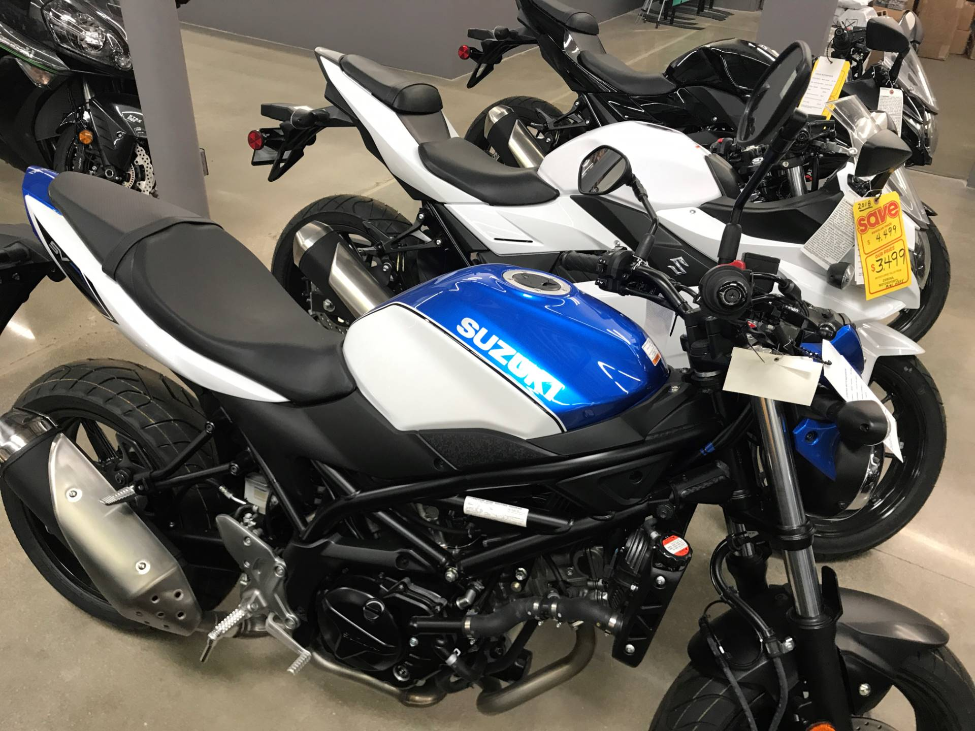 2018 Suzuki SV650 in Corona, California - Photo 1