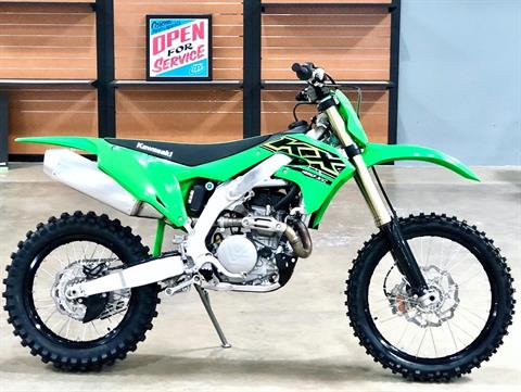 2021 Kawasaki KX 450X in Corona, California - Photo 1
