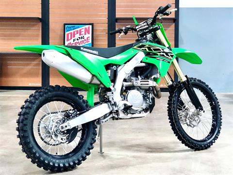 2021 Kawasaki KX 450X in Corona, California - Photo 4