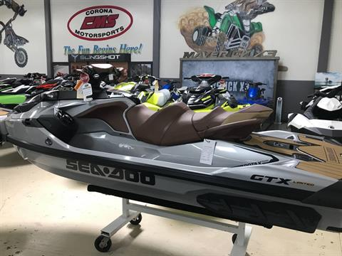2018 Sea-Doo GTX Limited 300 Incl. Sound System in Corona, California
