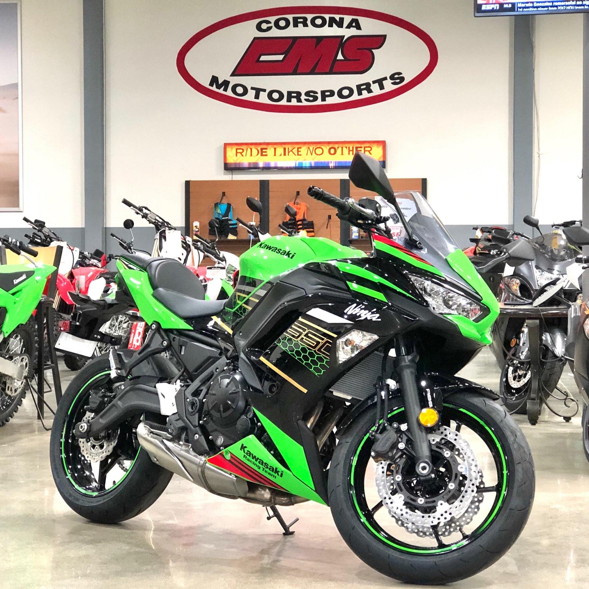 New 2020 Kawasaki Ninja 650 Abs Krt Edition Lime Green Ebony Motorcycles In Corona Ca N A