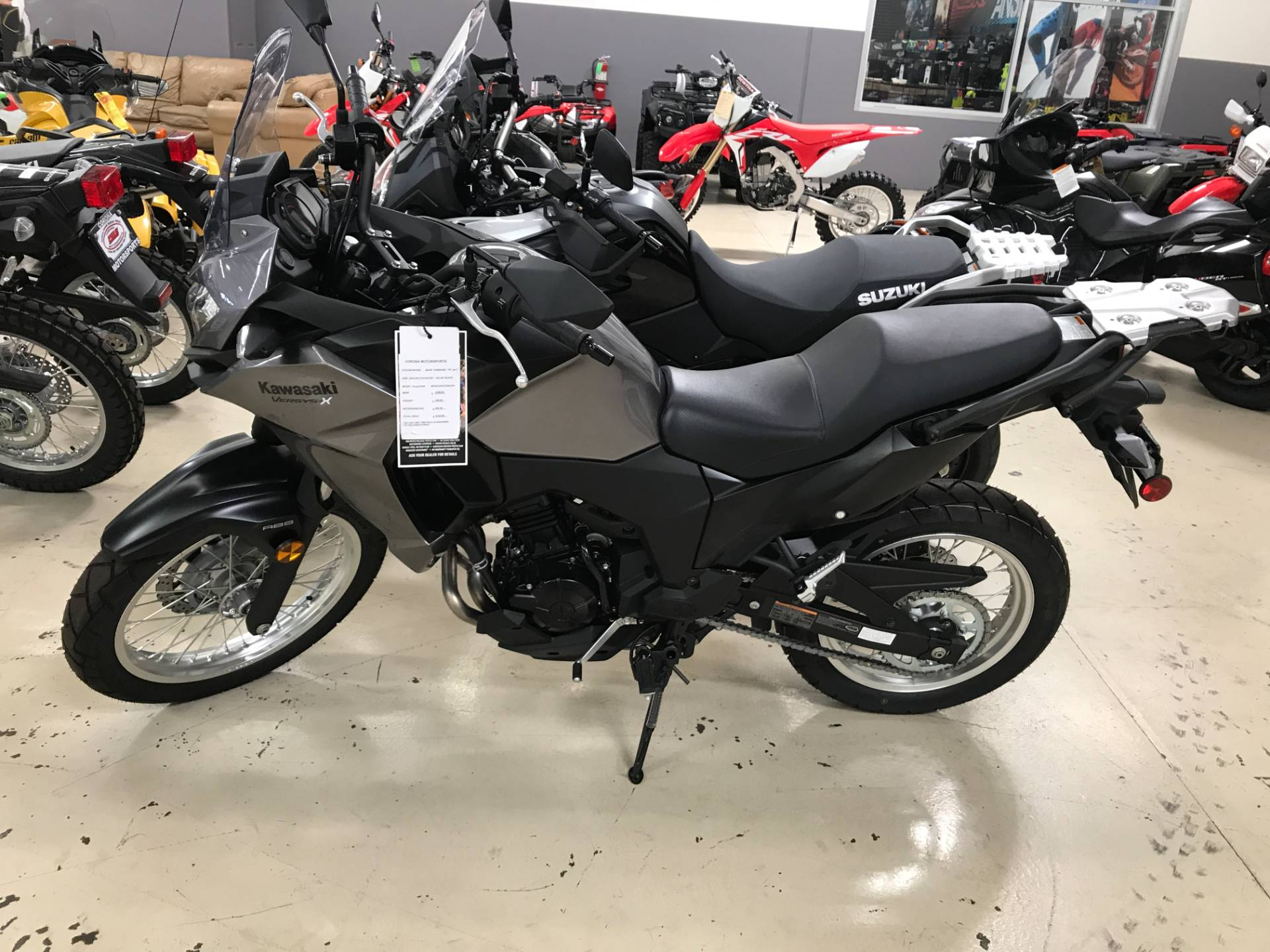 2017 Kawasaki Versys-X 300 ABS in Corona, California