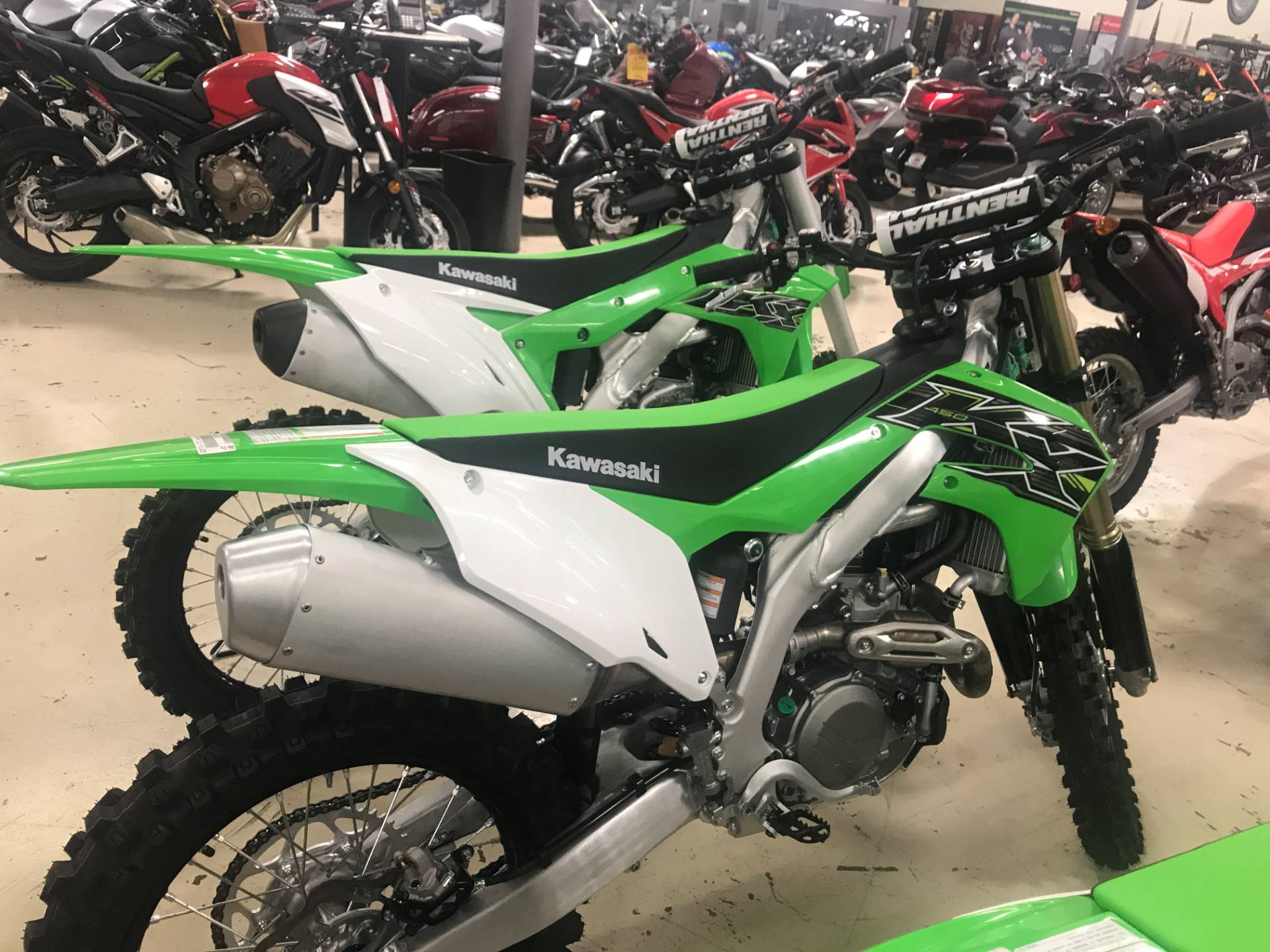 2019 Kawasaki KX 450 in Corona, California - Photo 1