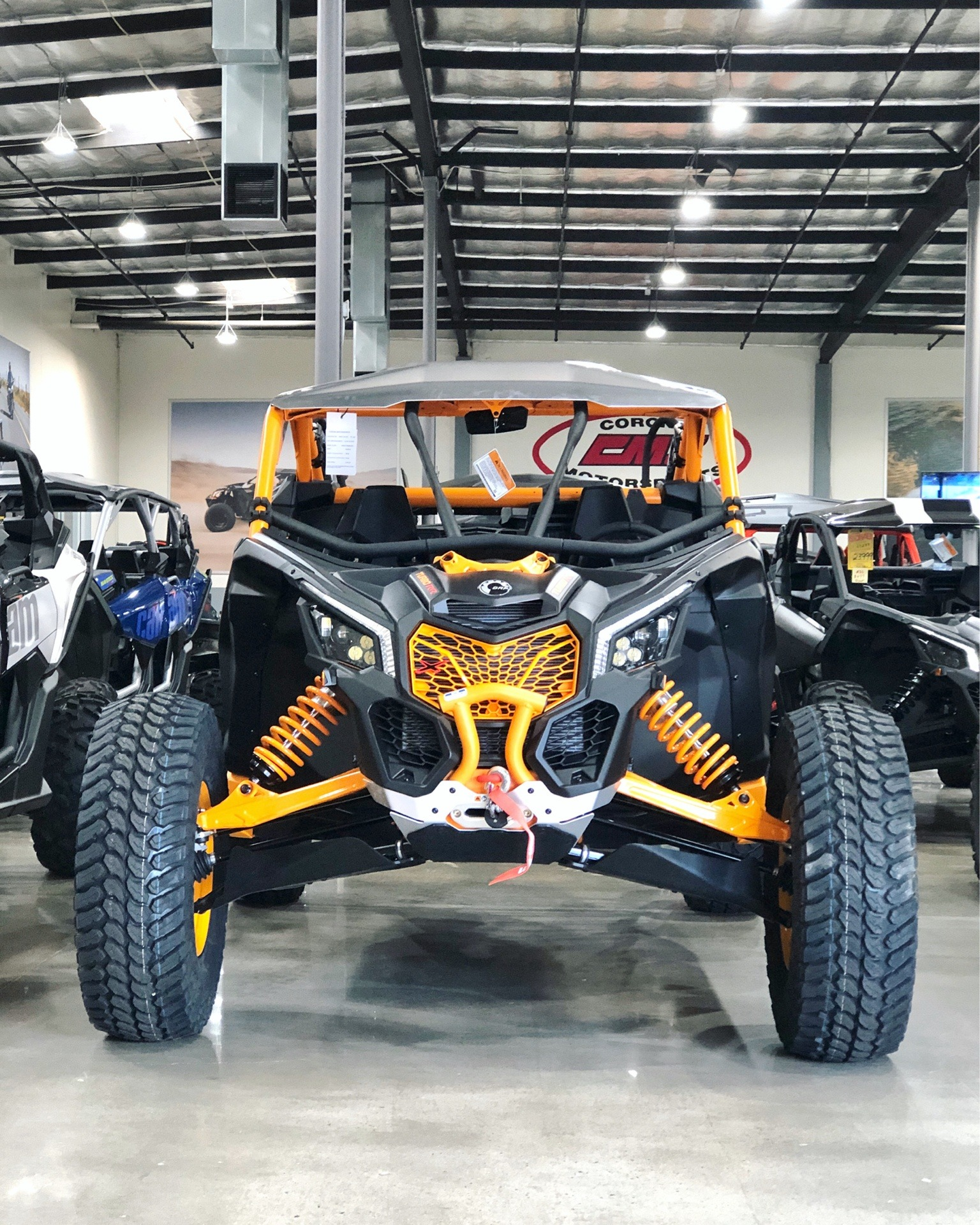New 2020 Can-Am Maverick X3 X RC Turbo RR Carbon Black