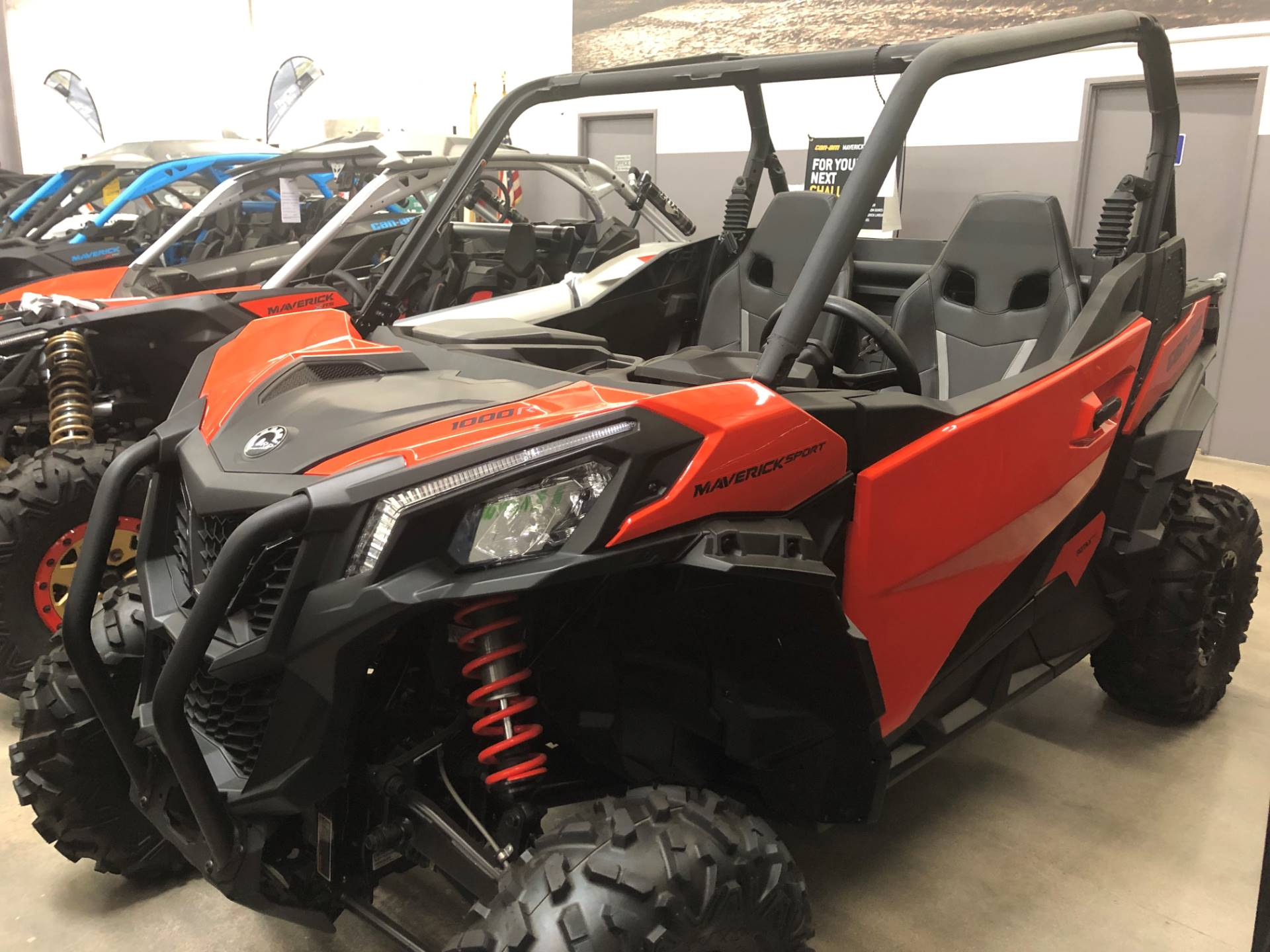 2019 Can-Am Maverick Sport DPS 1000R in Corona, California - Photo 2