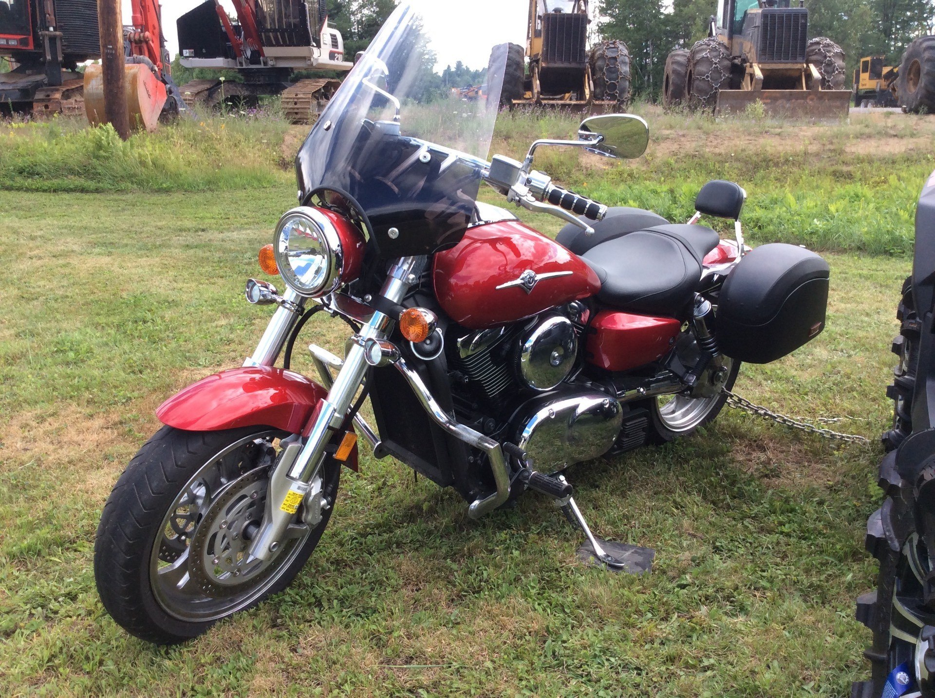 Used 2008 Kawasaki Vulcan 1600 Mean Streak Motorcycles In
