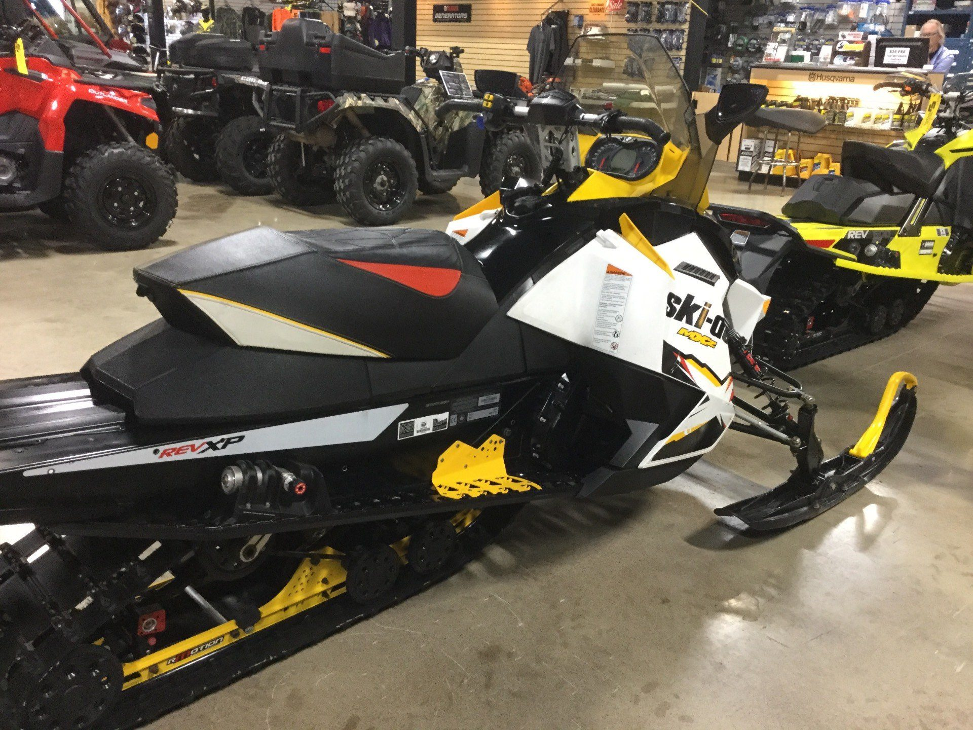 2012 Ski-Doo MX Z® X® E-TEC® 800R Ice Ripper XT QAS in Boonville, New York