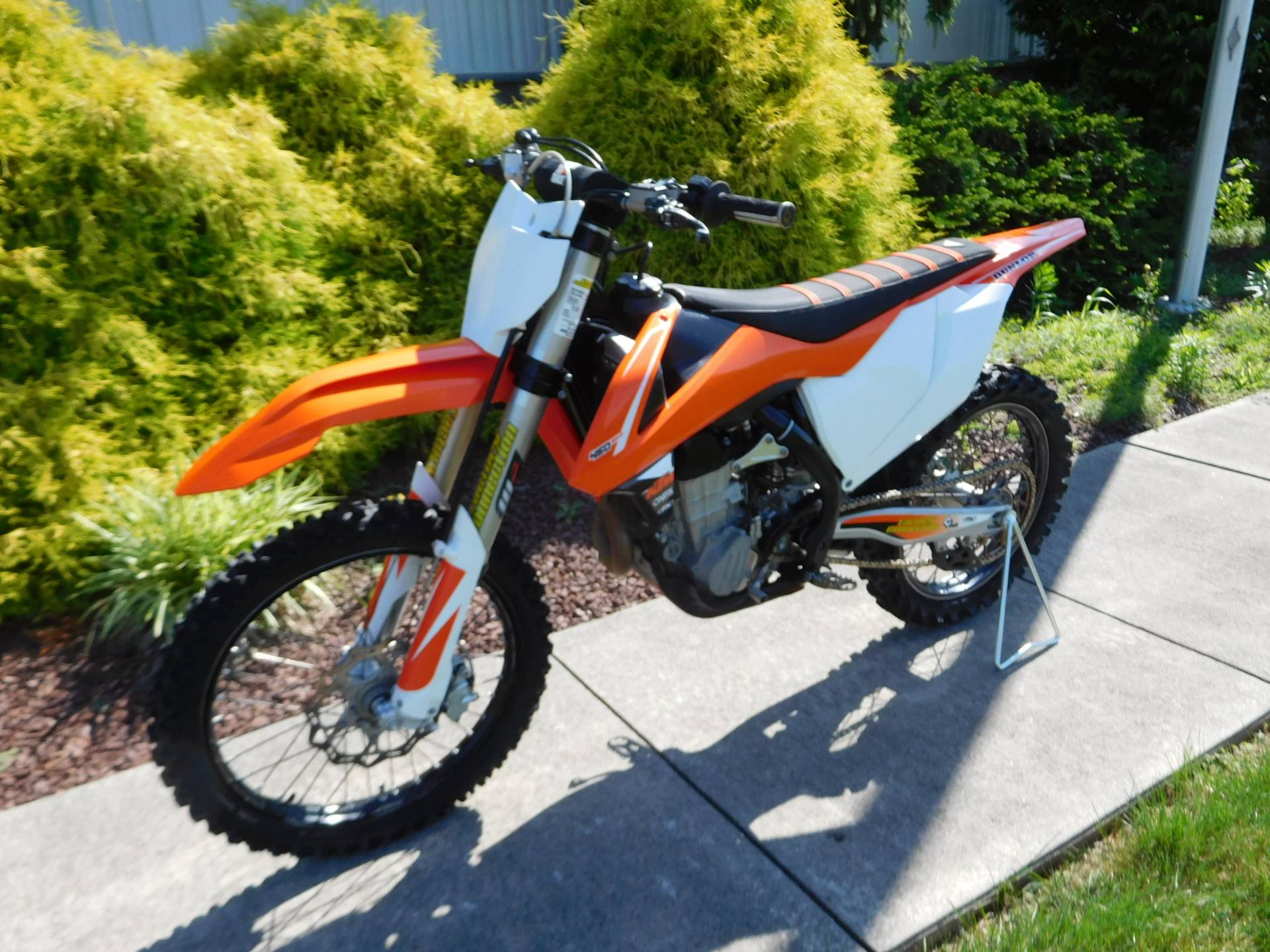 2017 KTM 450 SX-F in Manheim, Pennsylvania - Photo 2