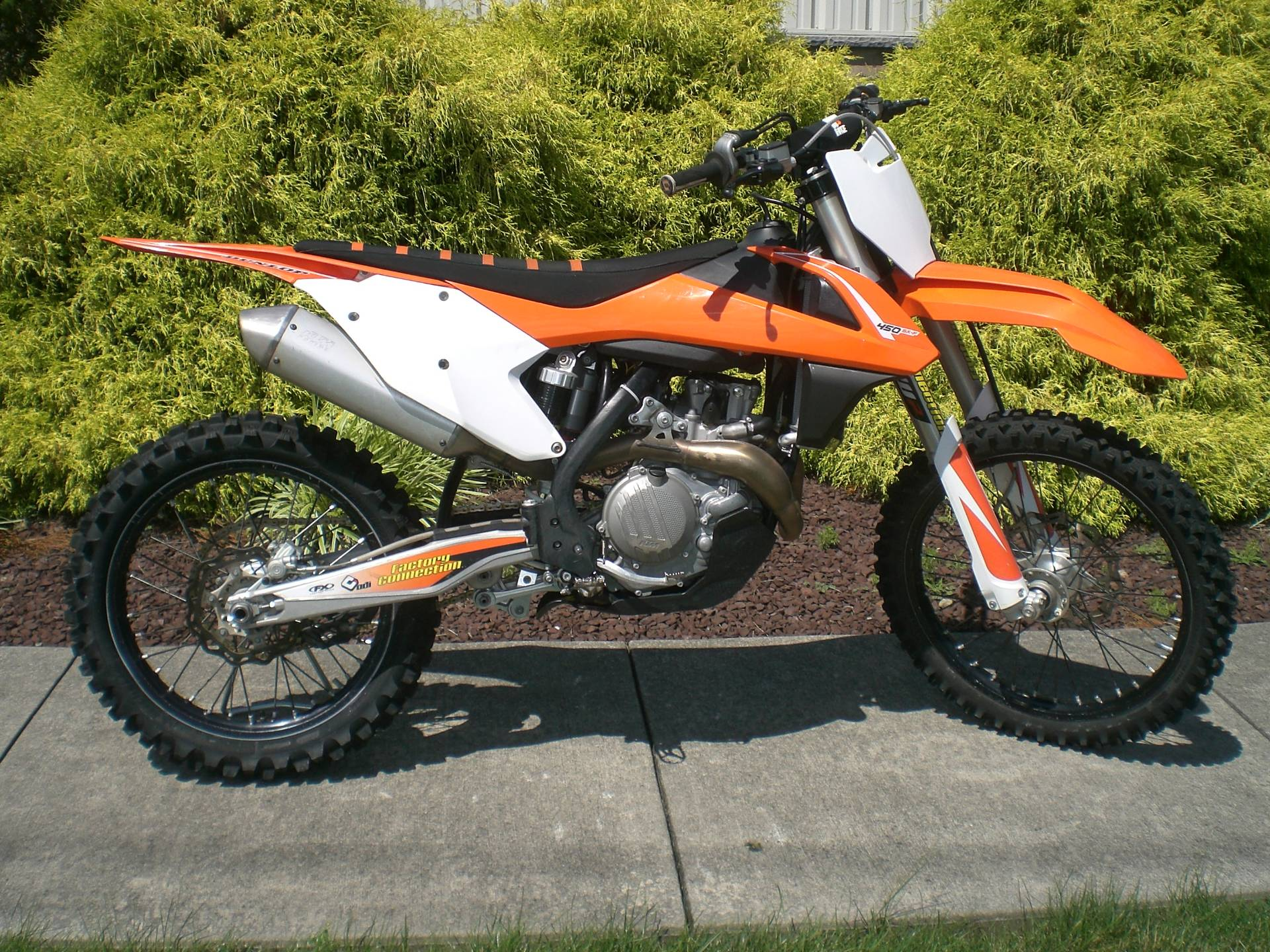 2017 KTM 450 SX-F in Manheim, Pennsylvania - Photo 1