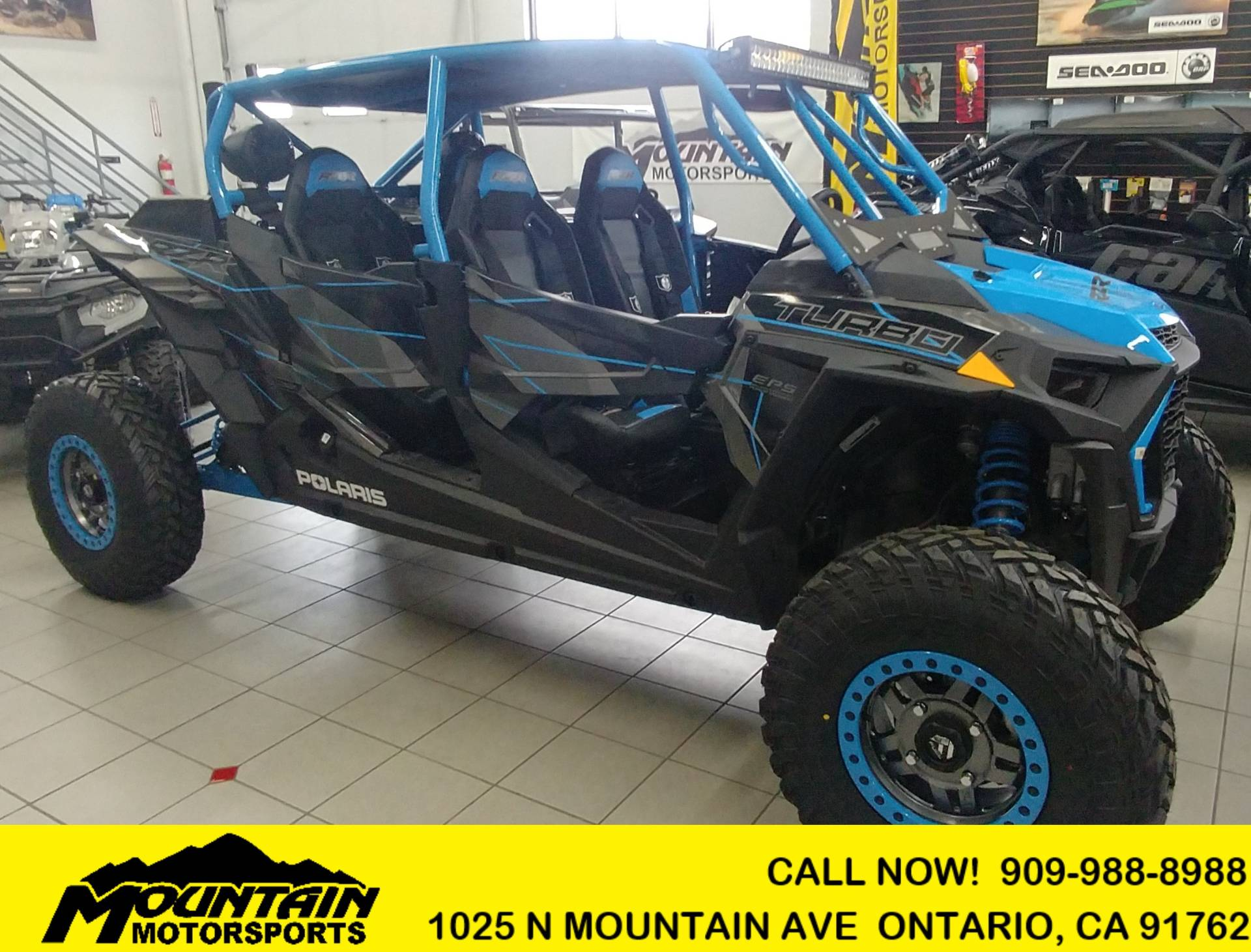 2019 Polaris RZR XP 4 Turbo 1