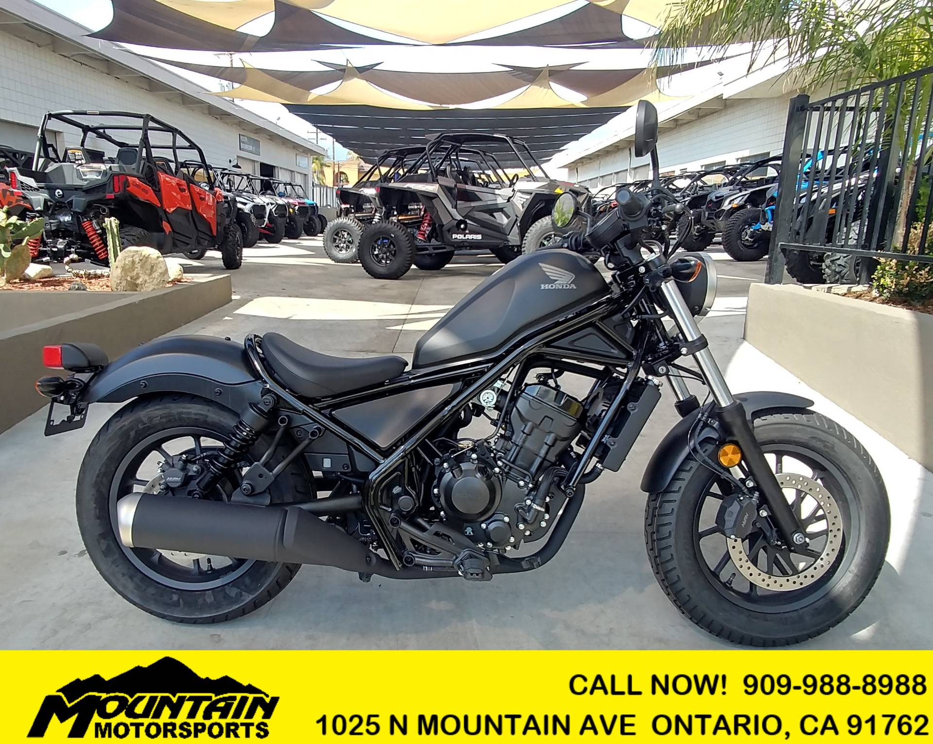2019 Honda Rebel 300 in Ontario, California - Photo 1