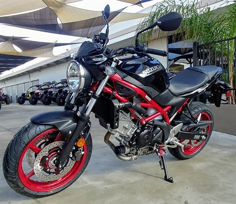 2018 Suzuki SV650 ABS in Ontario, California - Photo 3