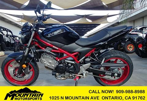 2018 Suzuki SV650 ABS in Ontario, California - Photo 1