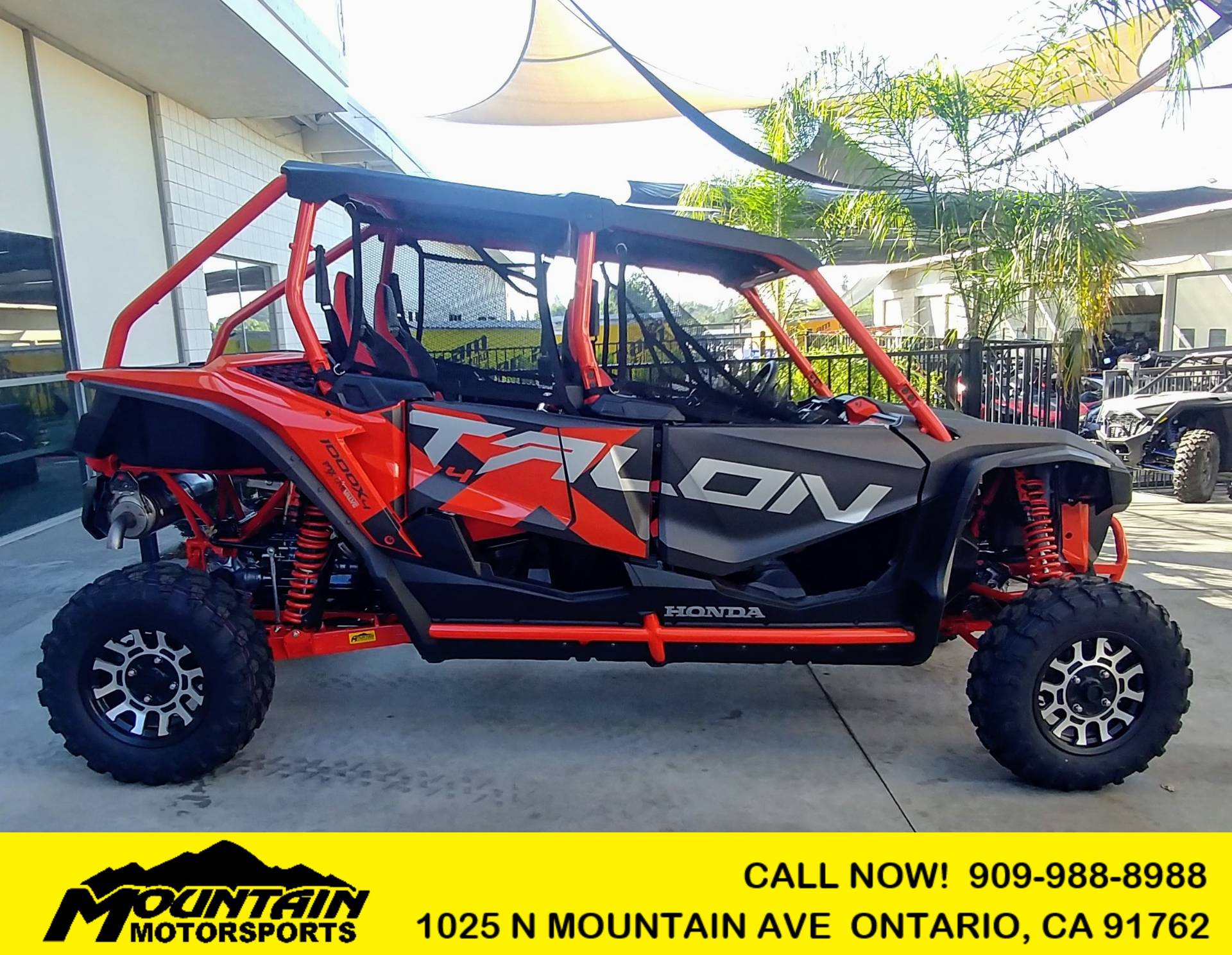 2020 Honda Talon 1000X-4 FOX Live Valve in Ontario, California - Photo 1