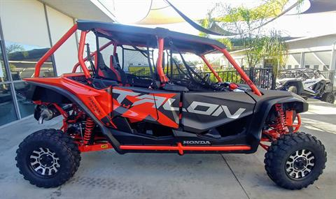 2020 Honda Talon 1000X-4 FOX Live Valve in Ontario, California - Photo 3