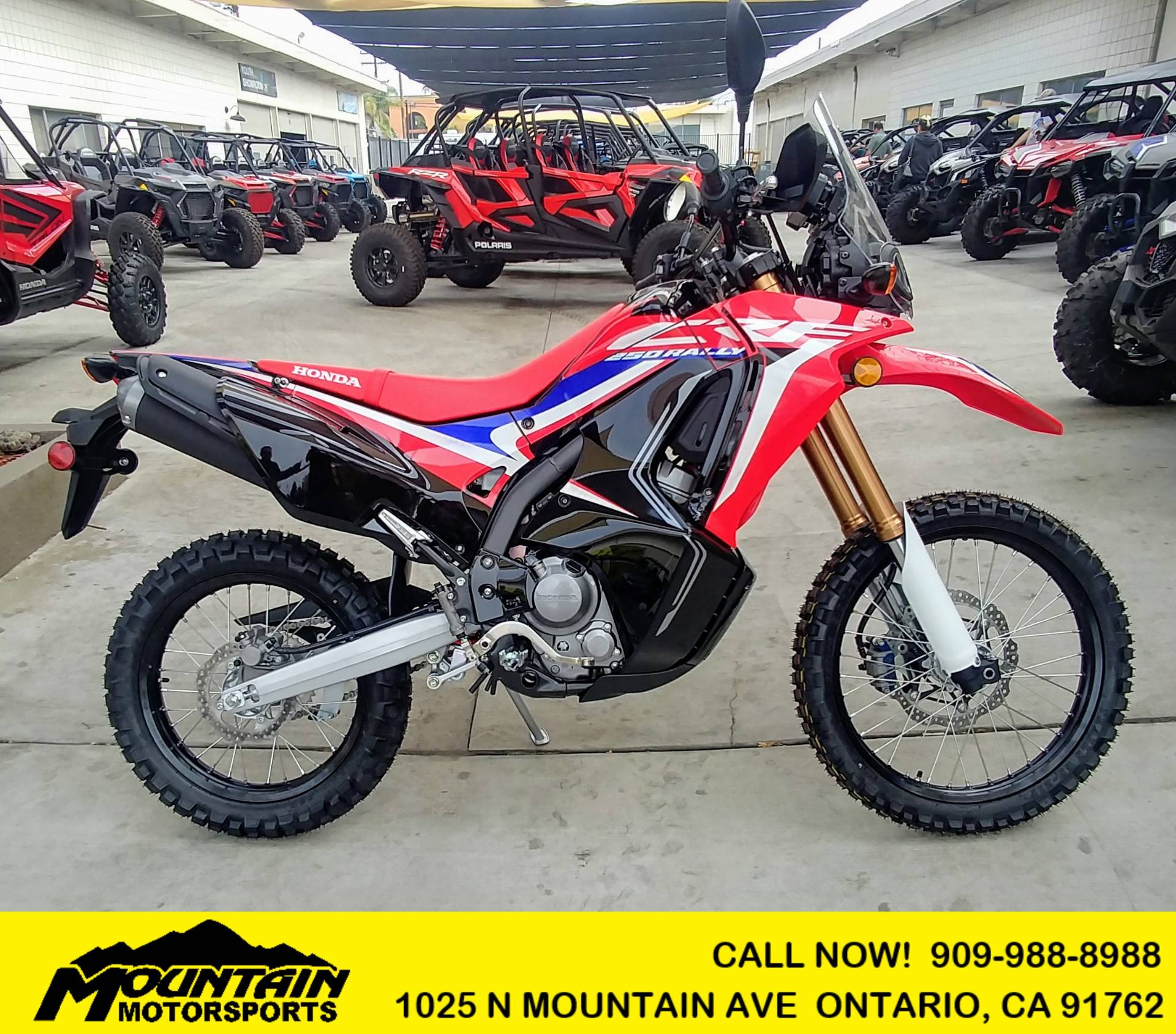 2019 Honda CRF250L Rally in Ontario, California - Photo 1