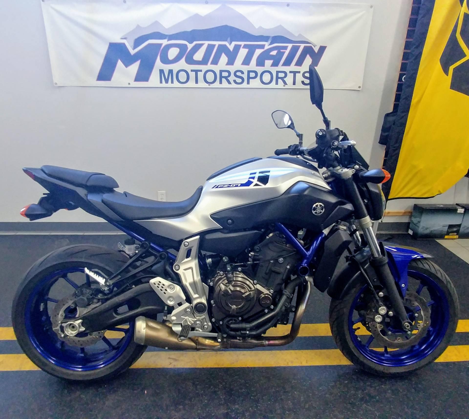 2016 Yamaha Fz 07 In Ontario California