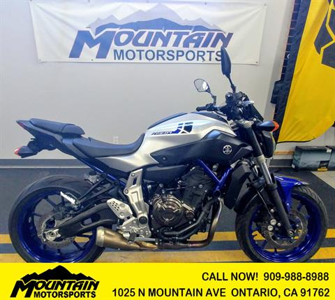 2016 Yamaha FZ-07 in Ontario, California - Photo 1