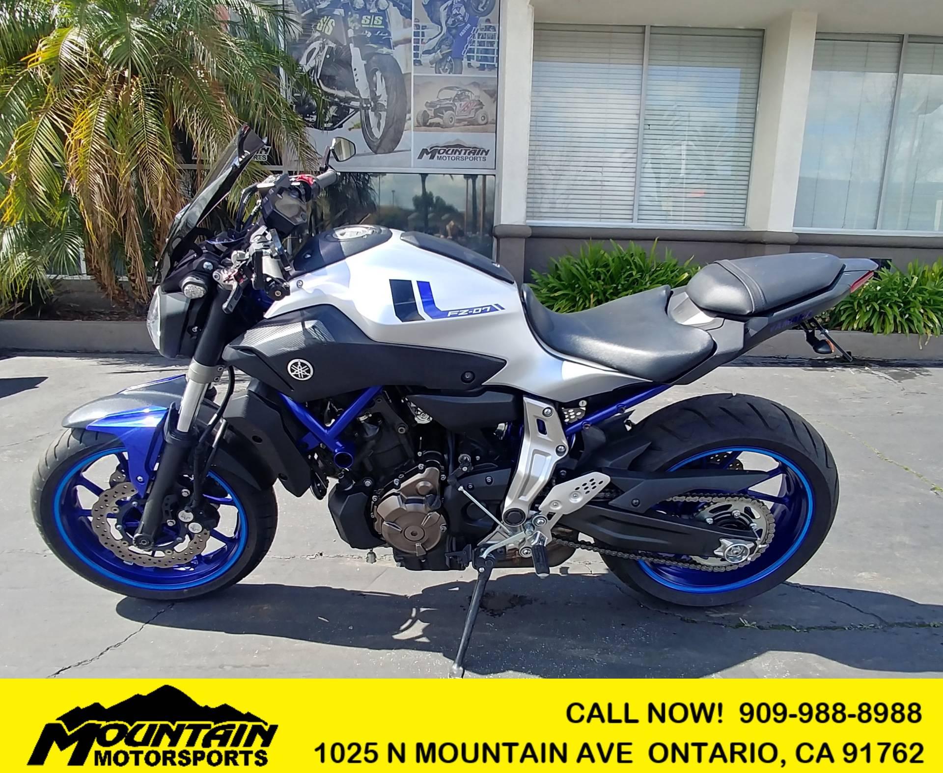 2016 Yamaha FZ-07 for sale 86608