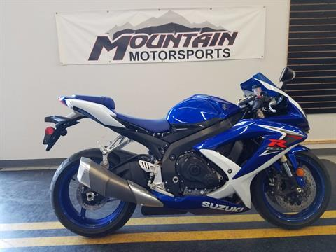 2008 Suzuki GSX-R600™ in Ontario, California