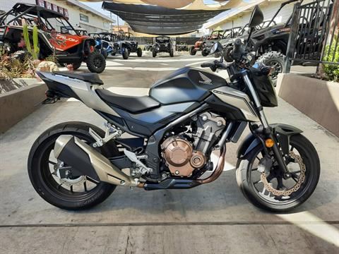 2016 Honda CB500F in Ontario, California - Photo 3