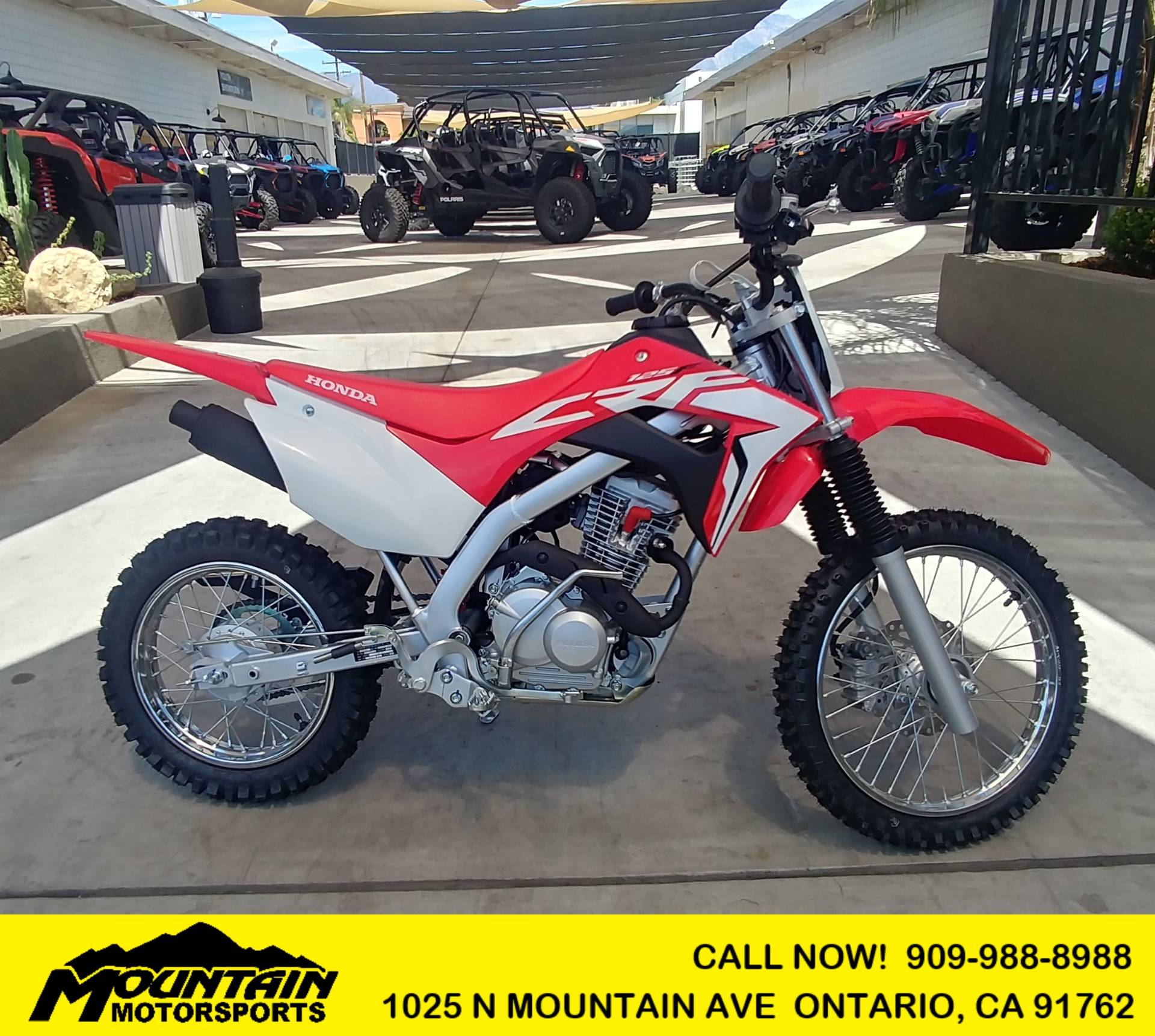 2020 Honda CRF125F in Ontario, California - Photo 1