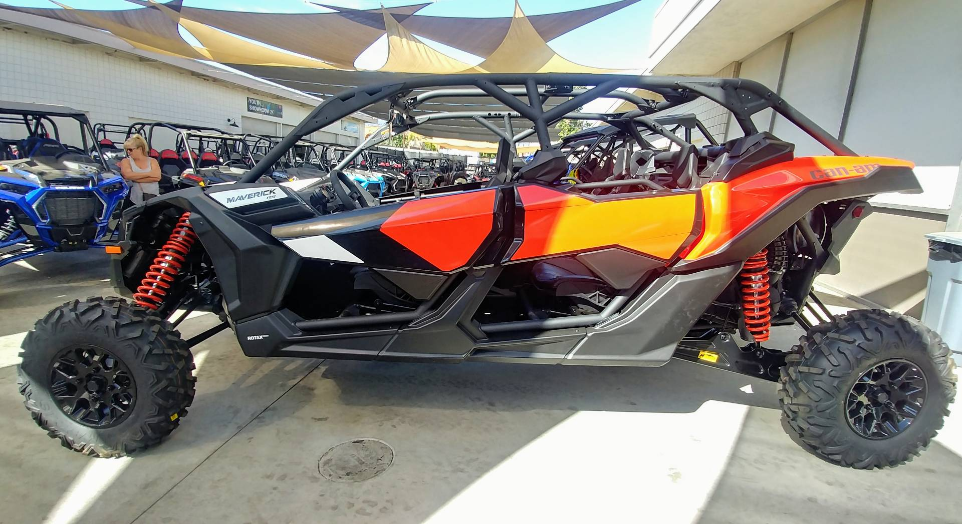 2020 Can-Am Maverick X3 MAX RS Turbo R in Ontario, California - Photo 6