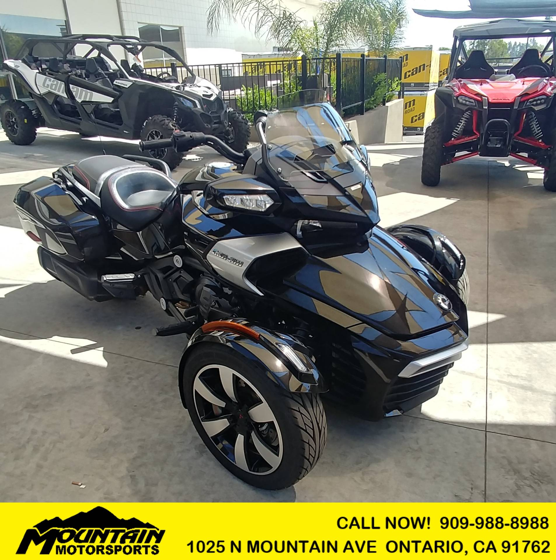 2016 Can-Am Spyder F3-T SE6 w/ Audio System in Ontario, California - Photo 1